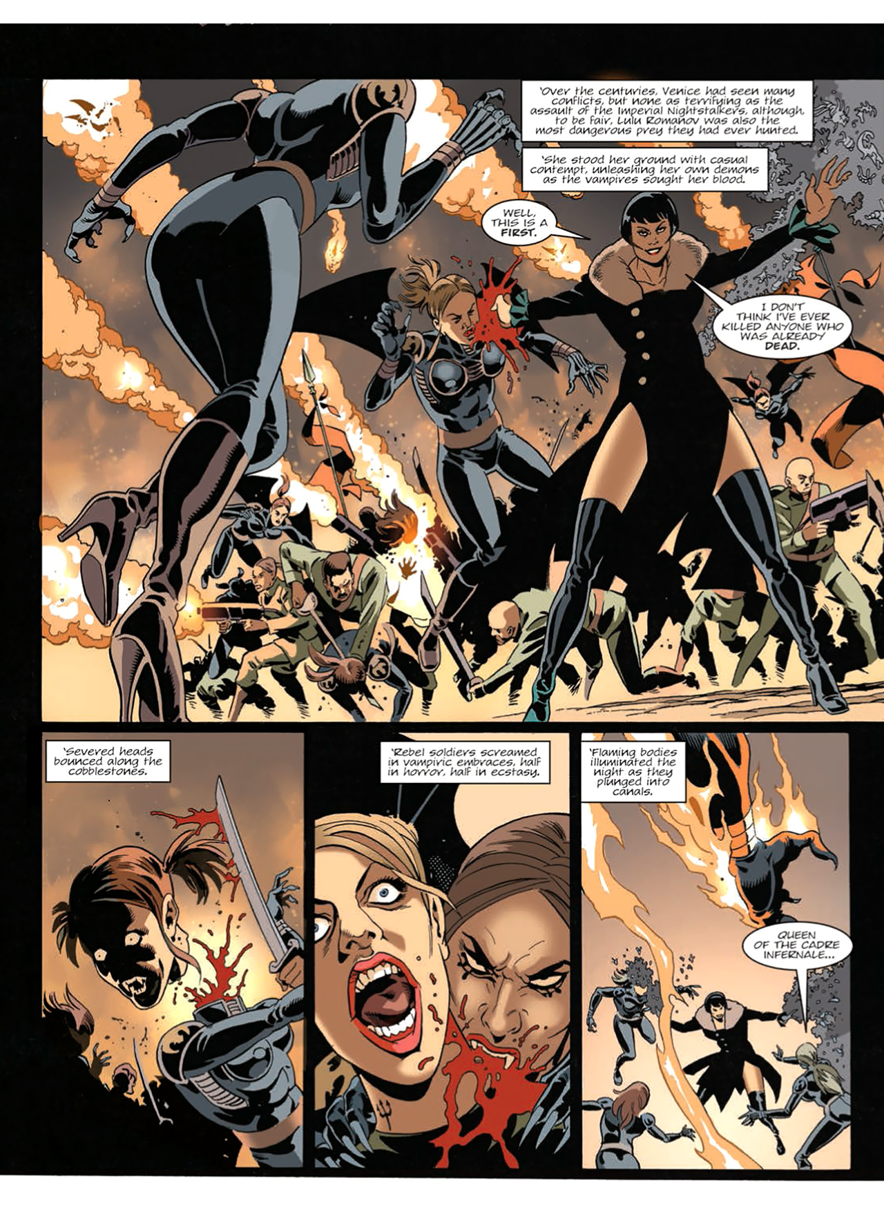 Read online Nikolai Dante comic -  Issue # TPB 9 - 172