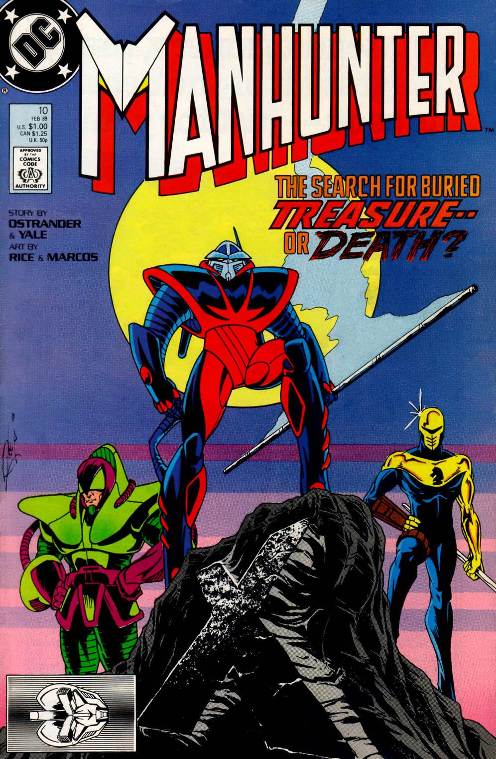 Manhunter (1988) issue 10 - Page 1