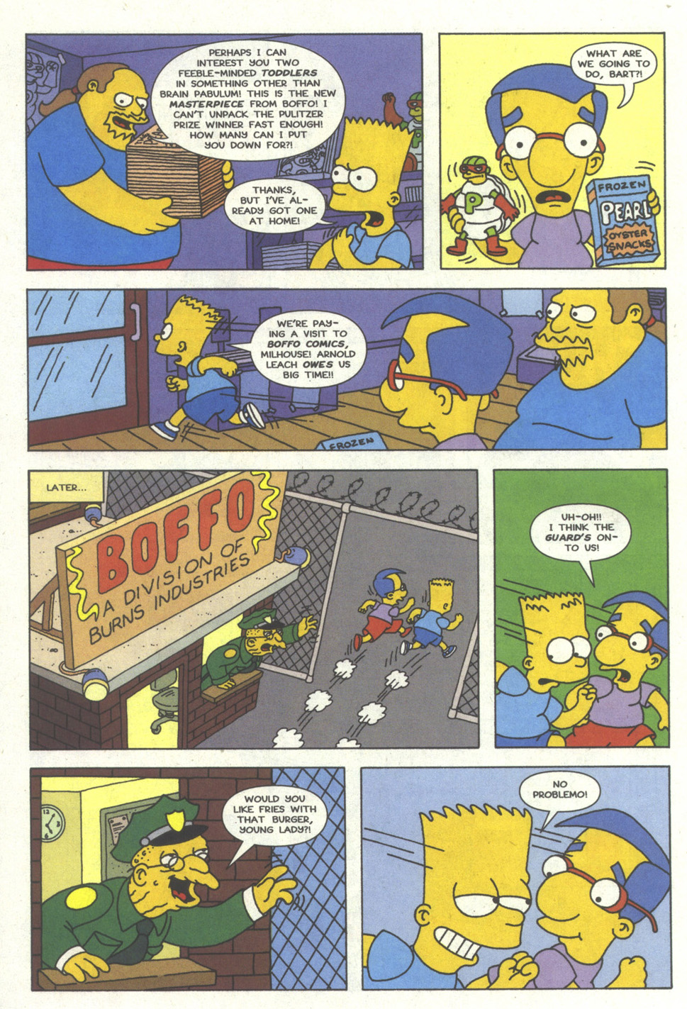 Read online Simpsons Comics comic -  Issue #13 - 13