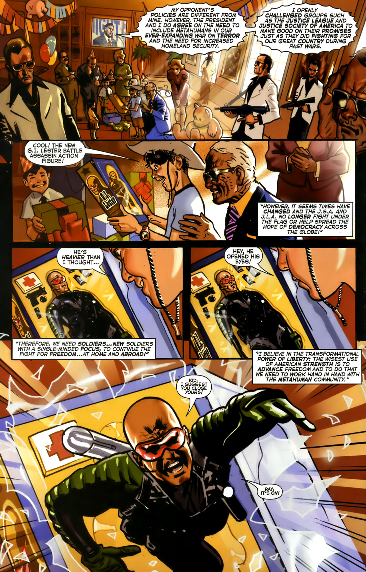 Read online Uncle Sam and the Freedom Fighters (2006) comic -  Issue #1 - 3