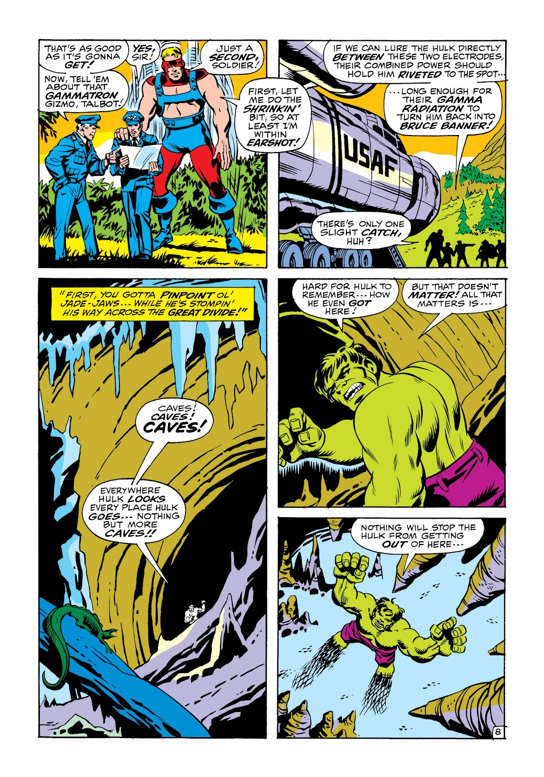 Read online Marvel Masterworks: The Incredible Hulk comic -  Issue # TPB 6 (Part 2) - 42