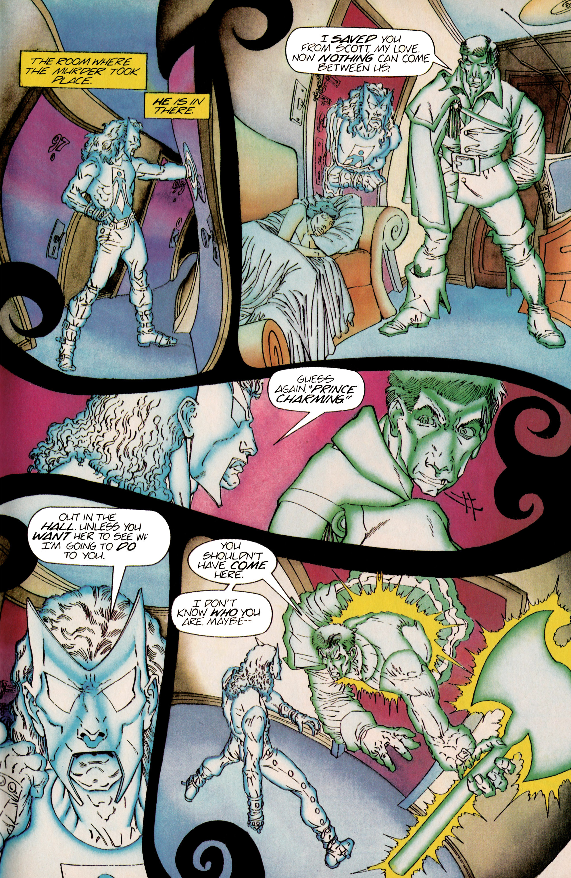 Read online Shadowman (1992) comic -  Issue #25 - 18
