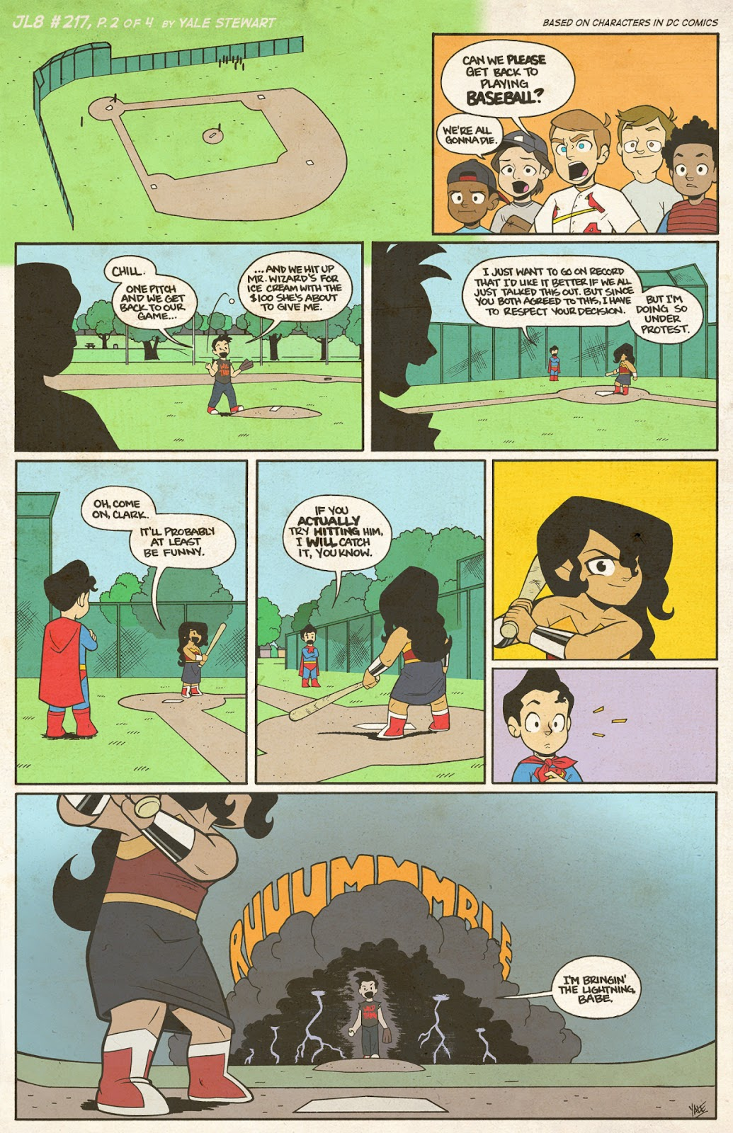 Read online JL8 – The Complete Collection comic -  Issue # TPB (Part 2) - 43