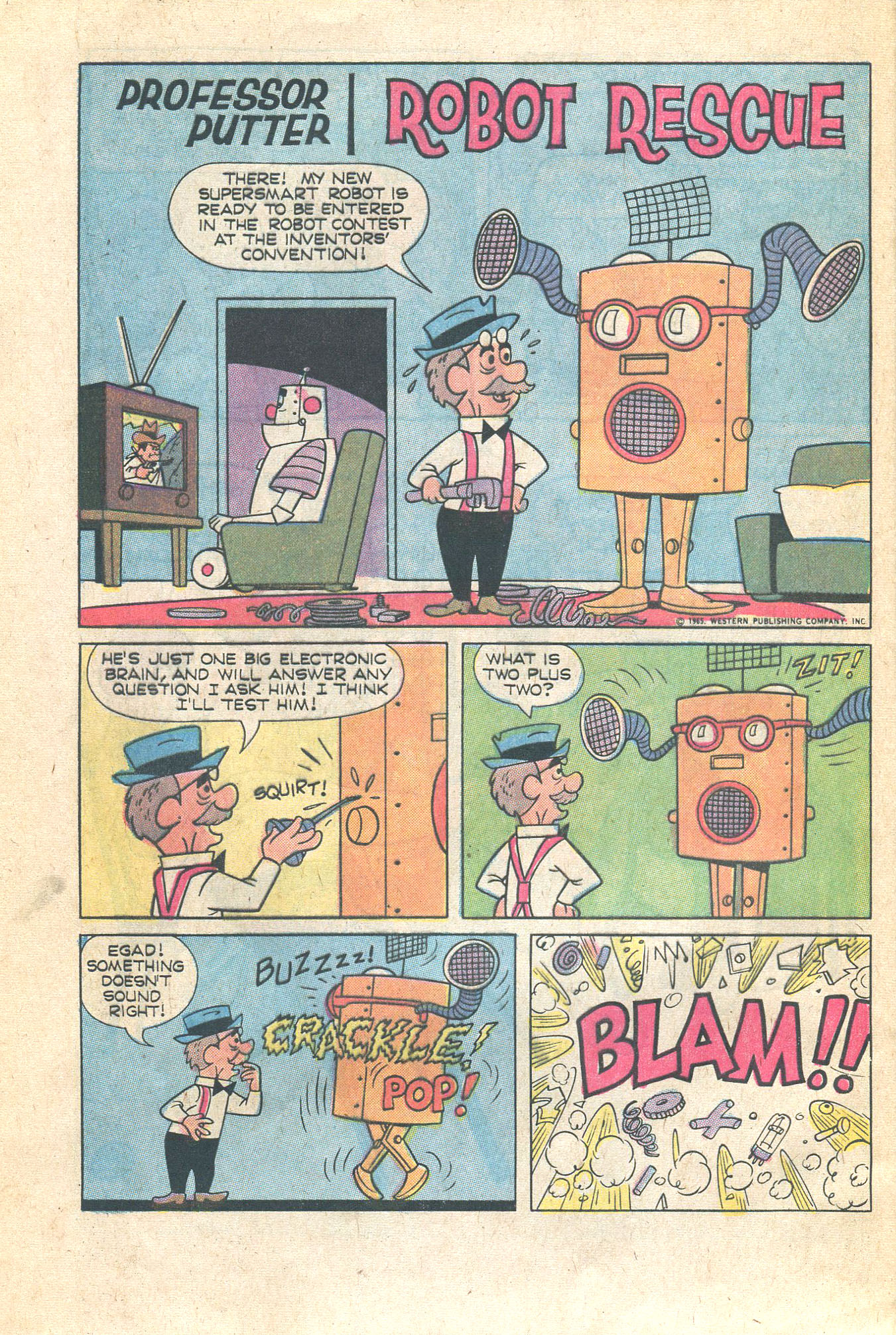 Read online Scooby-Doo... Where Are You! (1970) comic -  Issue #16 - 28