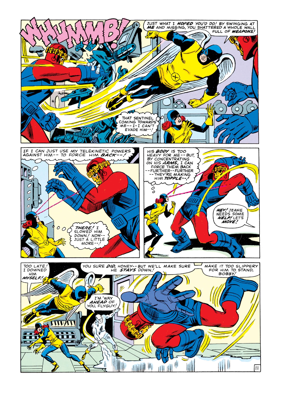 Read online Uncanny X-Men (1963) comic -  Issue #16 - 12