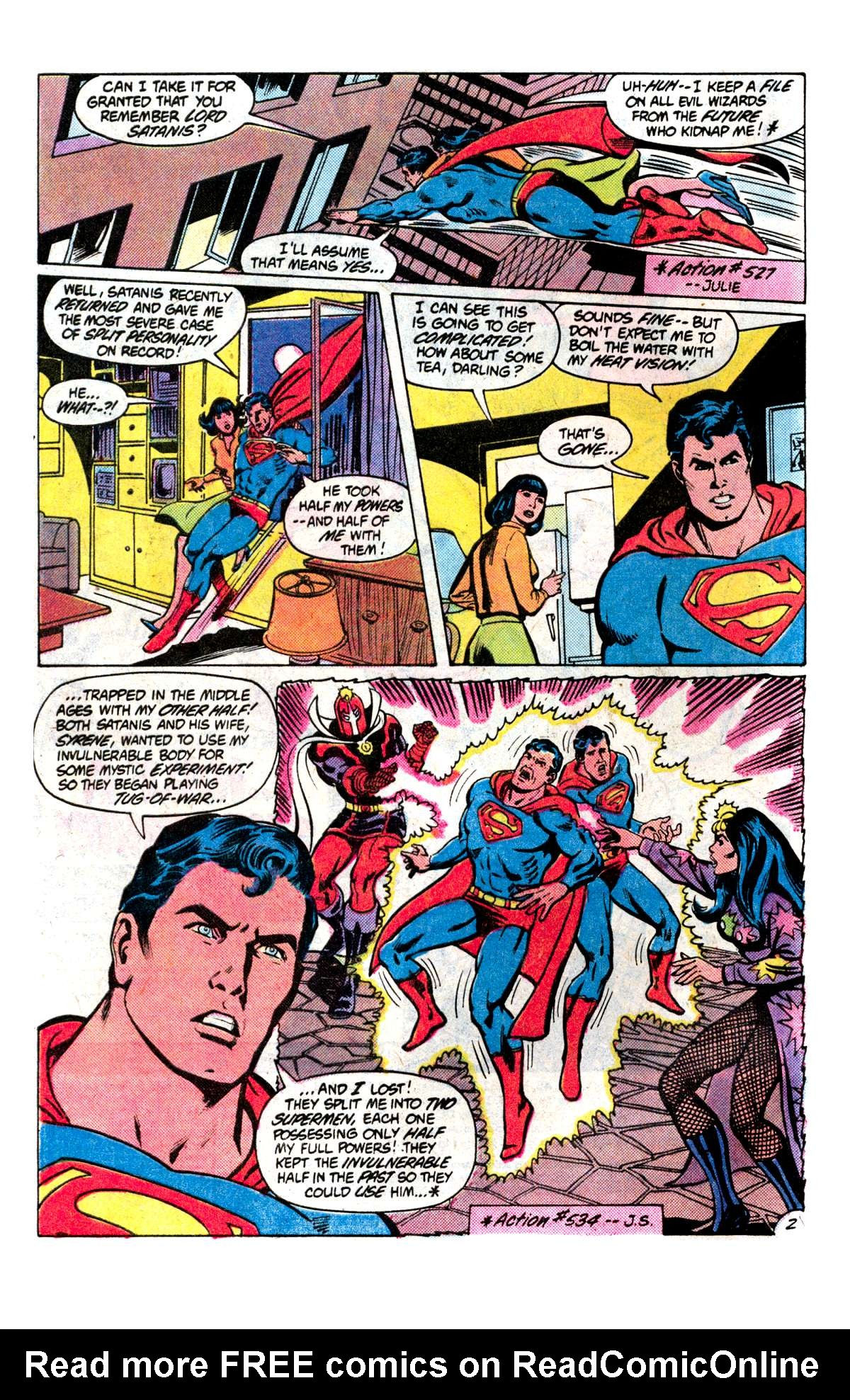 Read online Action Comics (1938) comic -  Issue #537 - 3