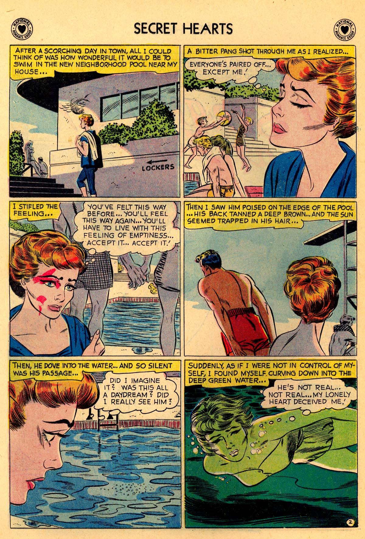 Read online Secret Hearts comic -  Issue #55 - 28