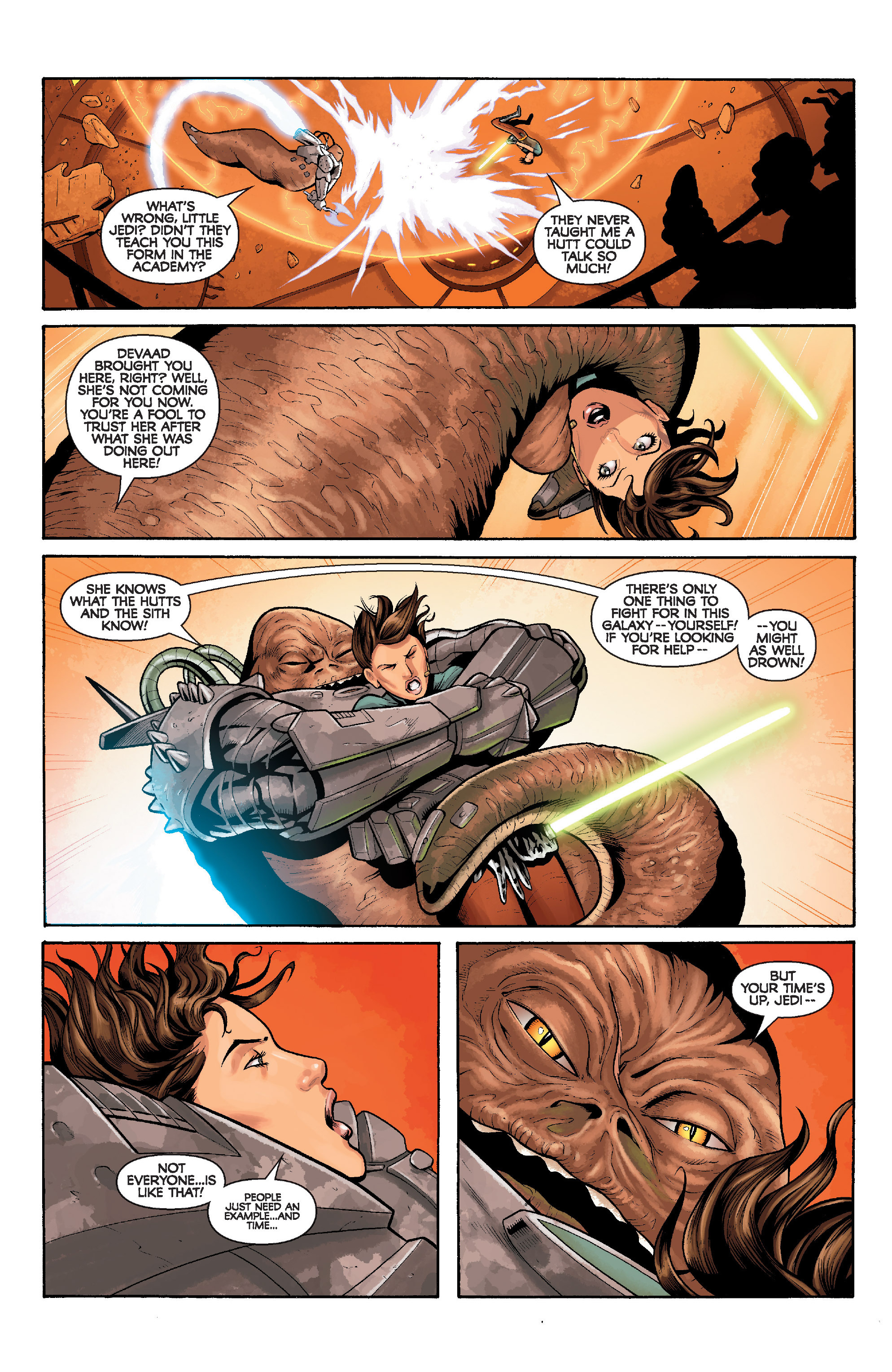 Read online Star Wars: Knight Errant - Deluge comic -  Issue #5 - 15