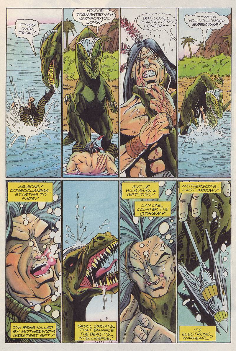 Read online Turok, Dinosaur Hunter (1993) comic -  Issue #3 - 19