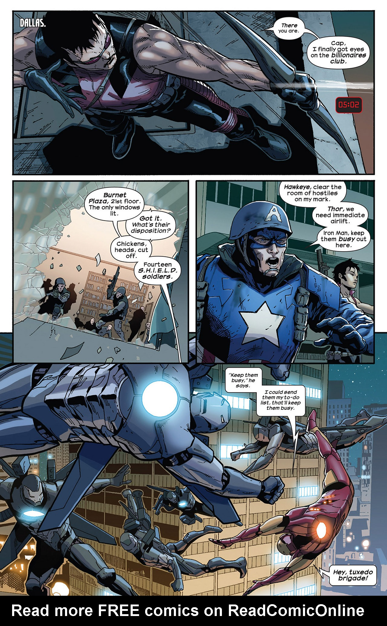 Read online Ultimate Comics Ultimates comic -  Issue #14 - 14