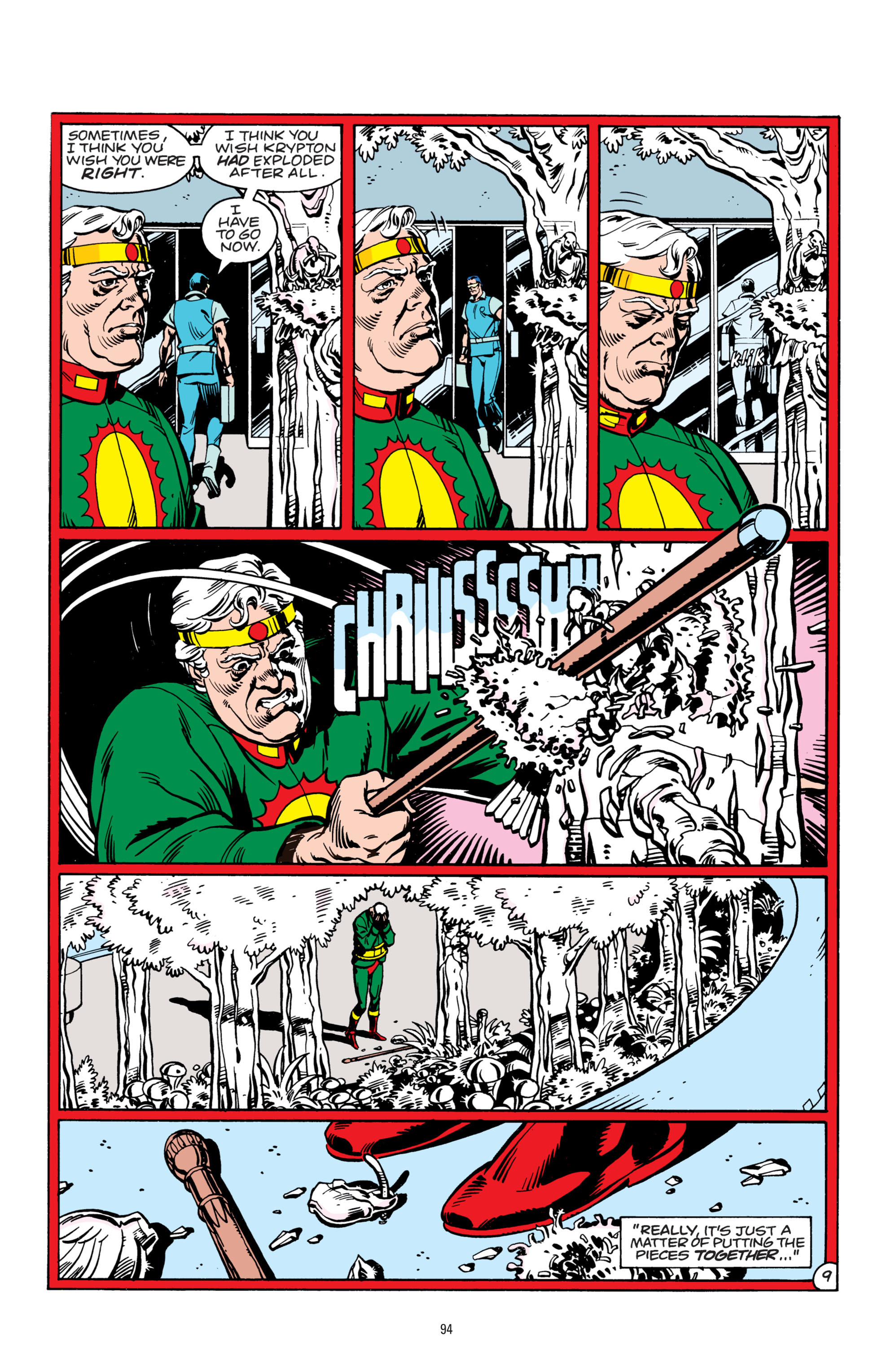 Read online Superman: Whatever Happened to the Man of Tomorrow? comic -  Issue # TPB - 93