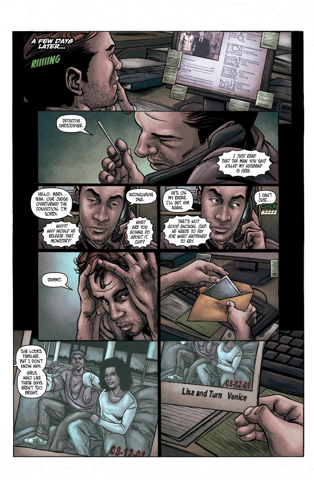 Read online Vindication comic -  Issue #1 - 9