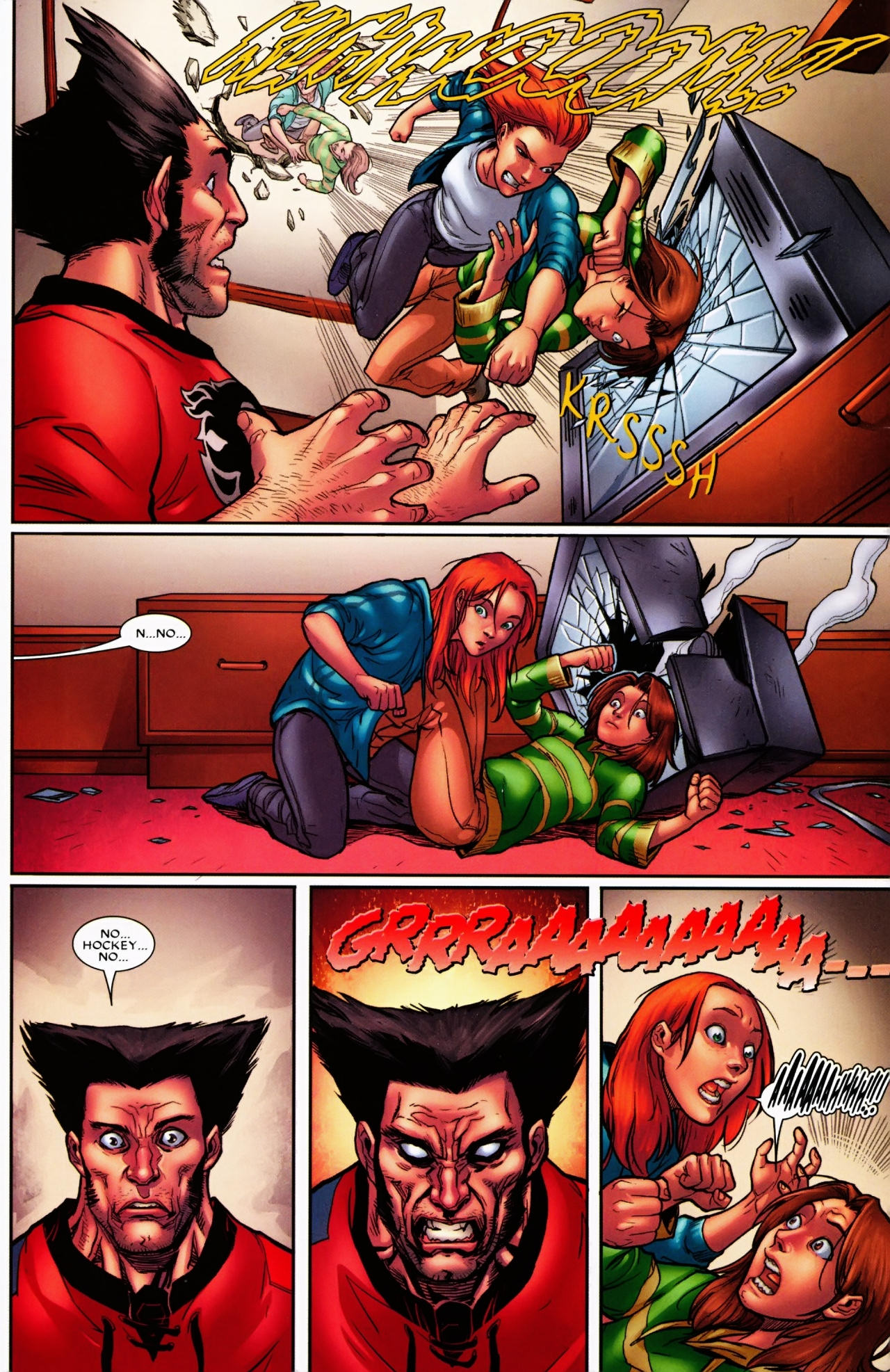 Read online Wolverine: First Class comic -  Issue #6 - 19