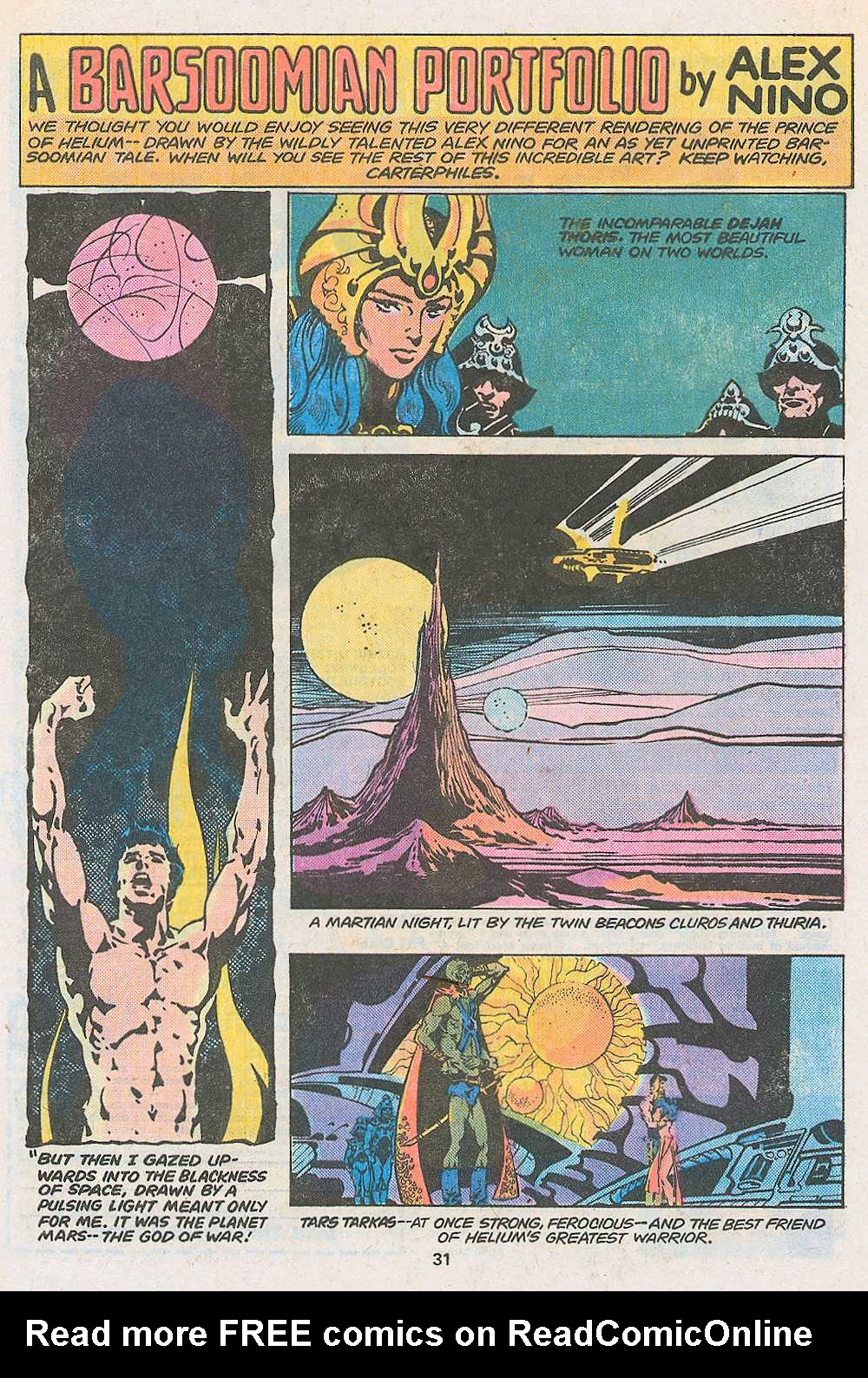John Carter Warlord of Mars issue 3 - Page 33