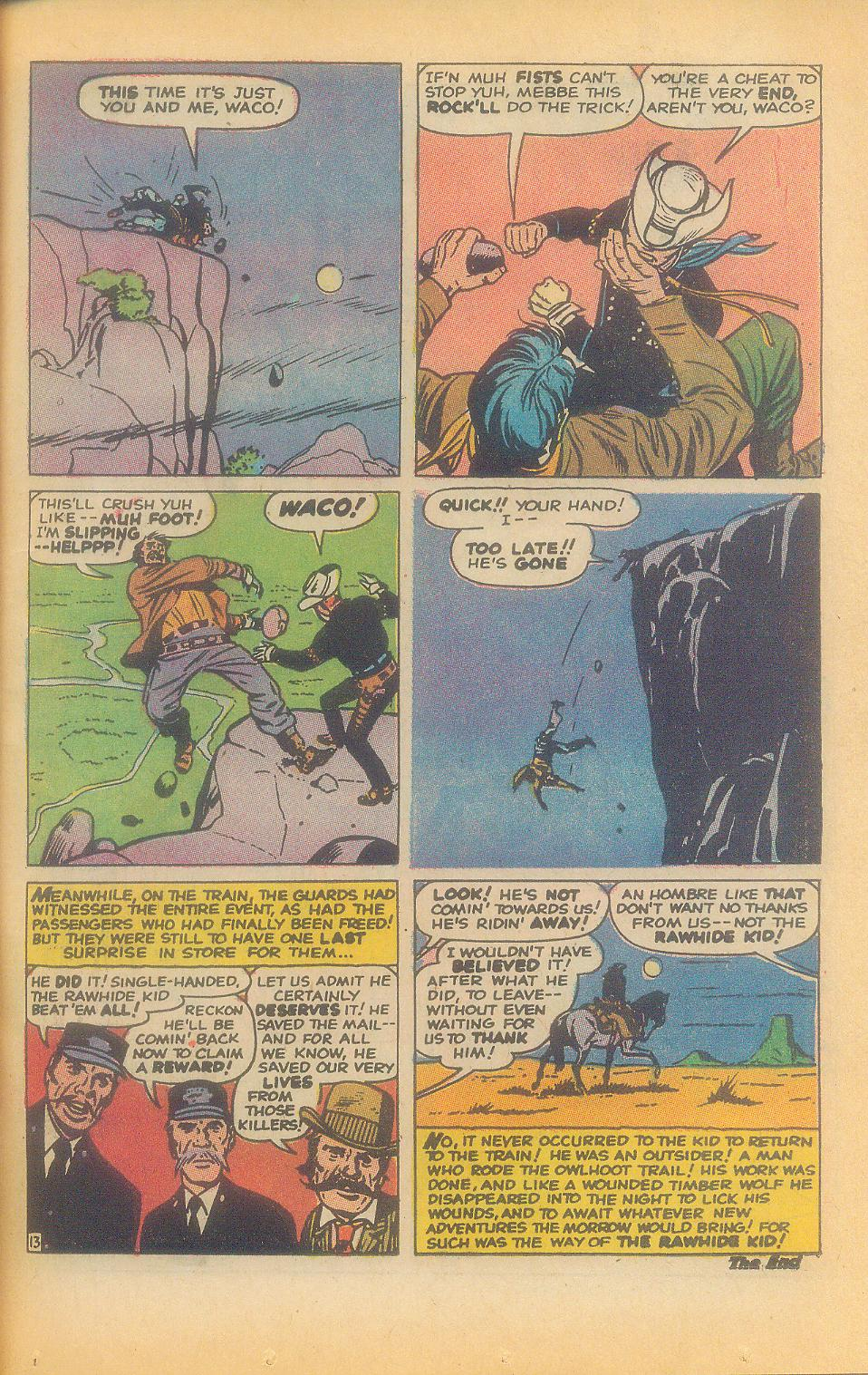 The Rawhide Kid (1955) issue 92 - Page 35