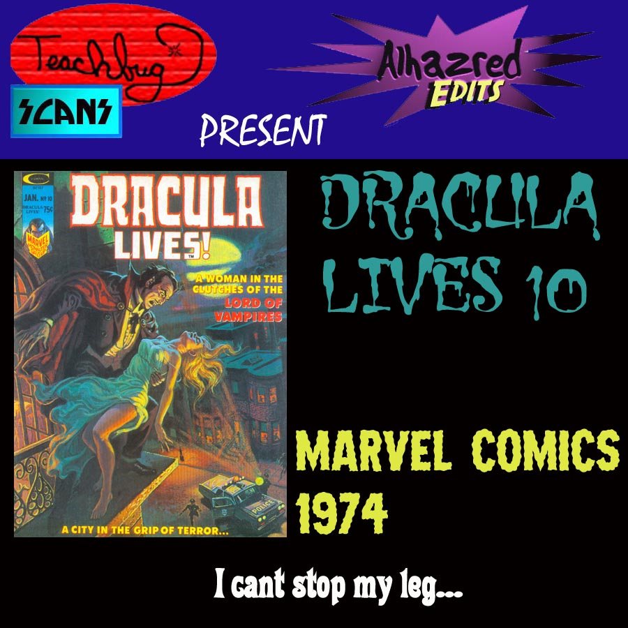 Dracula Lives 10 Page 1