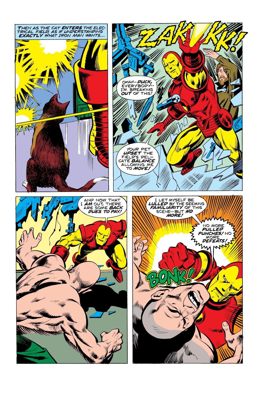 Read online Marvel Masterworks: The Invincible Iron Man comic -  Issue # TPB 10 (Part 3) - 8