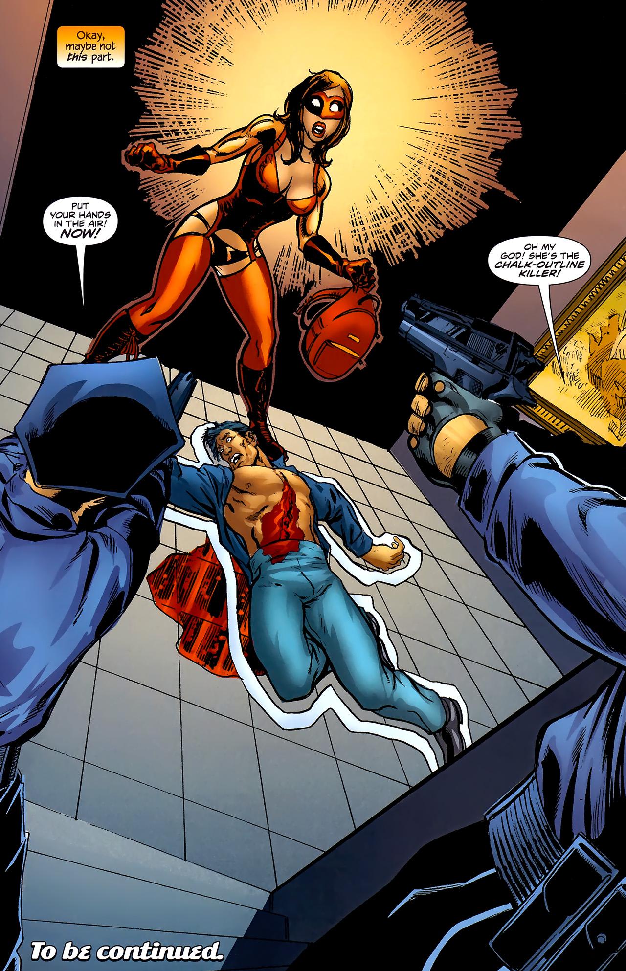 Read online ShadowHawk (2010) comic -  Issue #2 - 25
