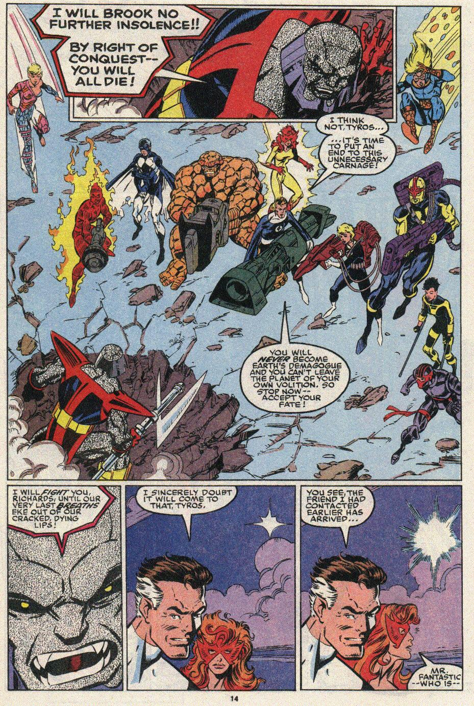 The New Warriors Issue #17 #21 - English 11