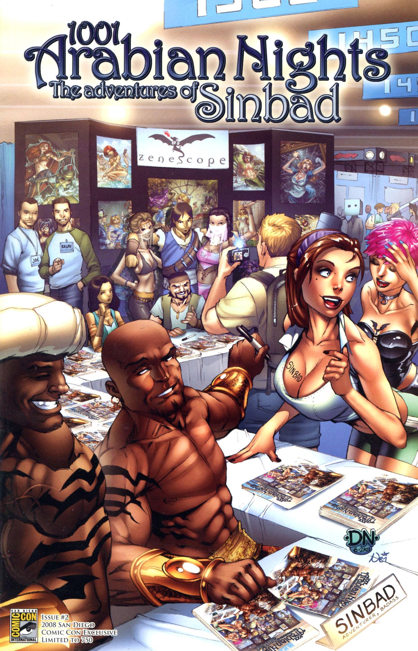 Read online 1001 Arabian Nights: The Adventures of Sinbad comic -  Issue #2 - 5
