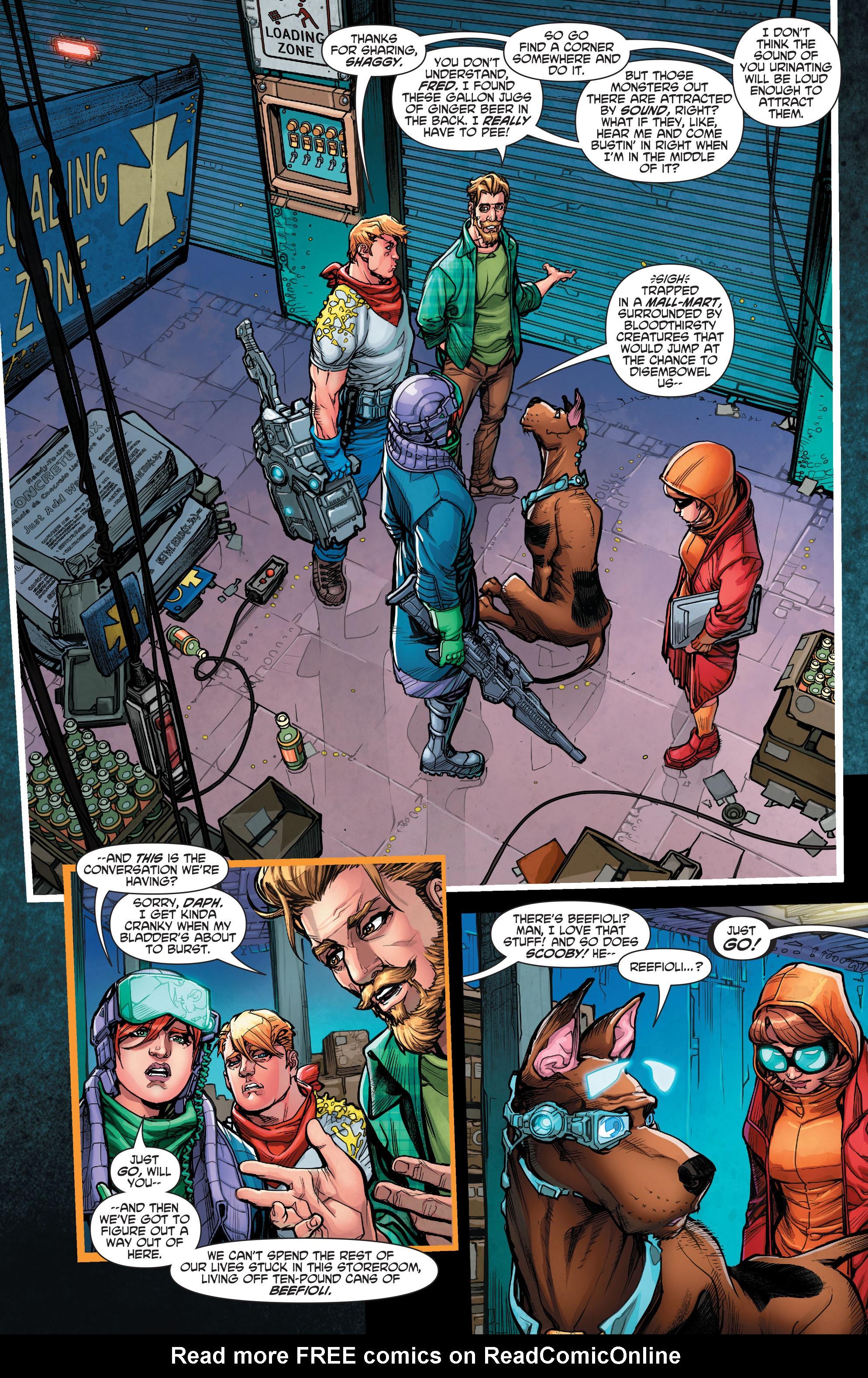 Read online Scooby Apocalypse comic -  Issue #7 - 5