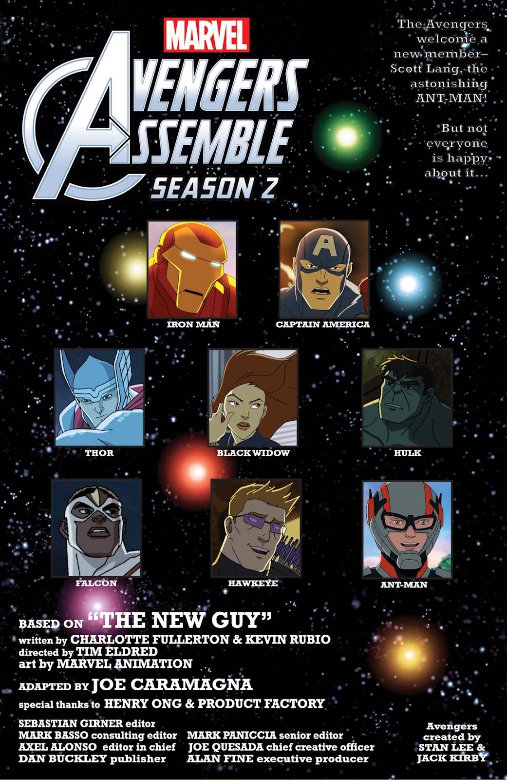 Read online Marvel Universe Avengers Assemble Season 2 comic -  Issue #9 - 8