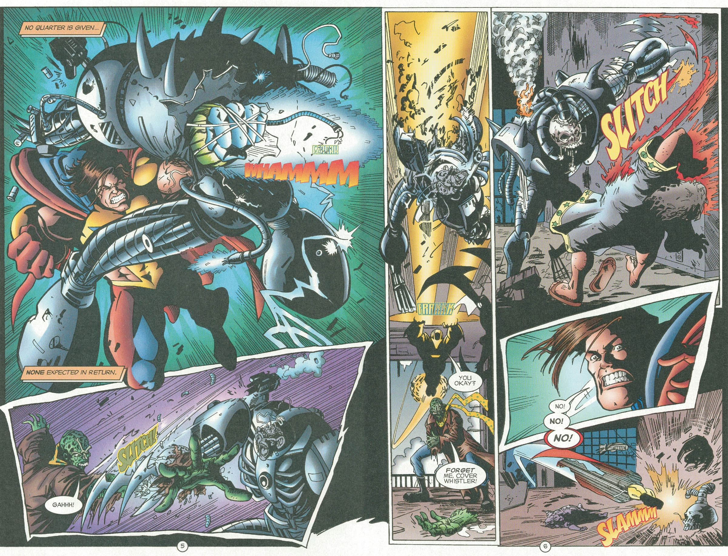 Read online UltraForce (1995) comic -  Issue #6 - 7