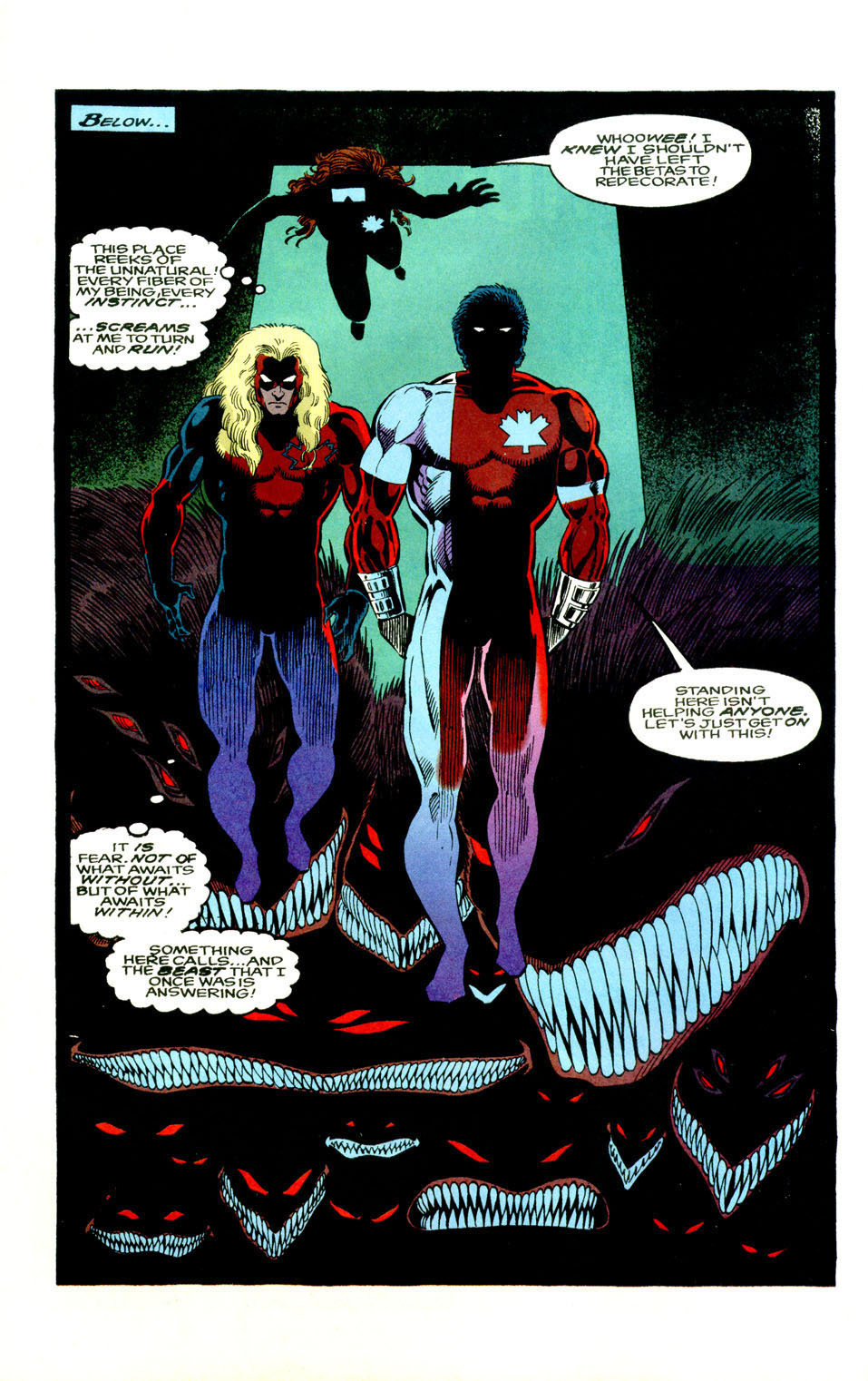Read online Alpha Flight (1983) comic -  Issue #123 - 6