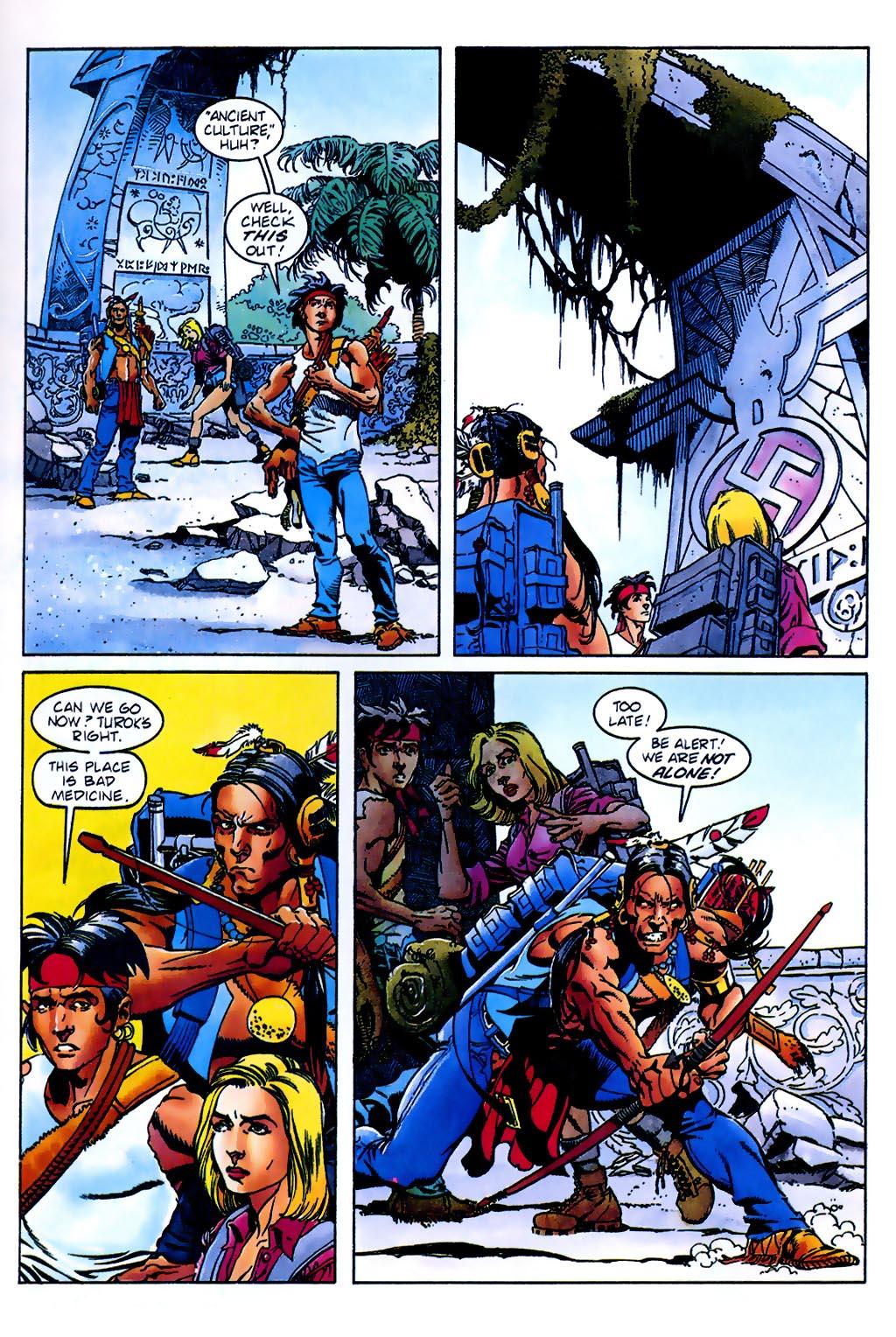 Read online Turok, Dinosaur Hunter (1993) comic -  Issue #37 - 11