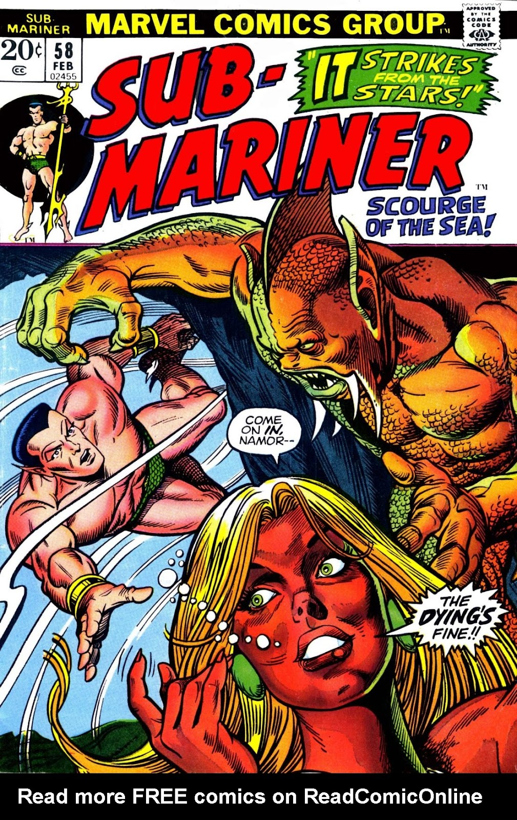 The Sub-Mariner 58 Page 1