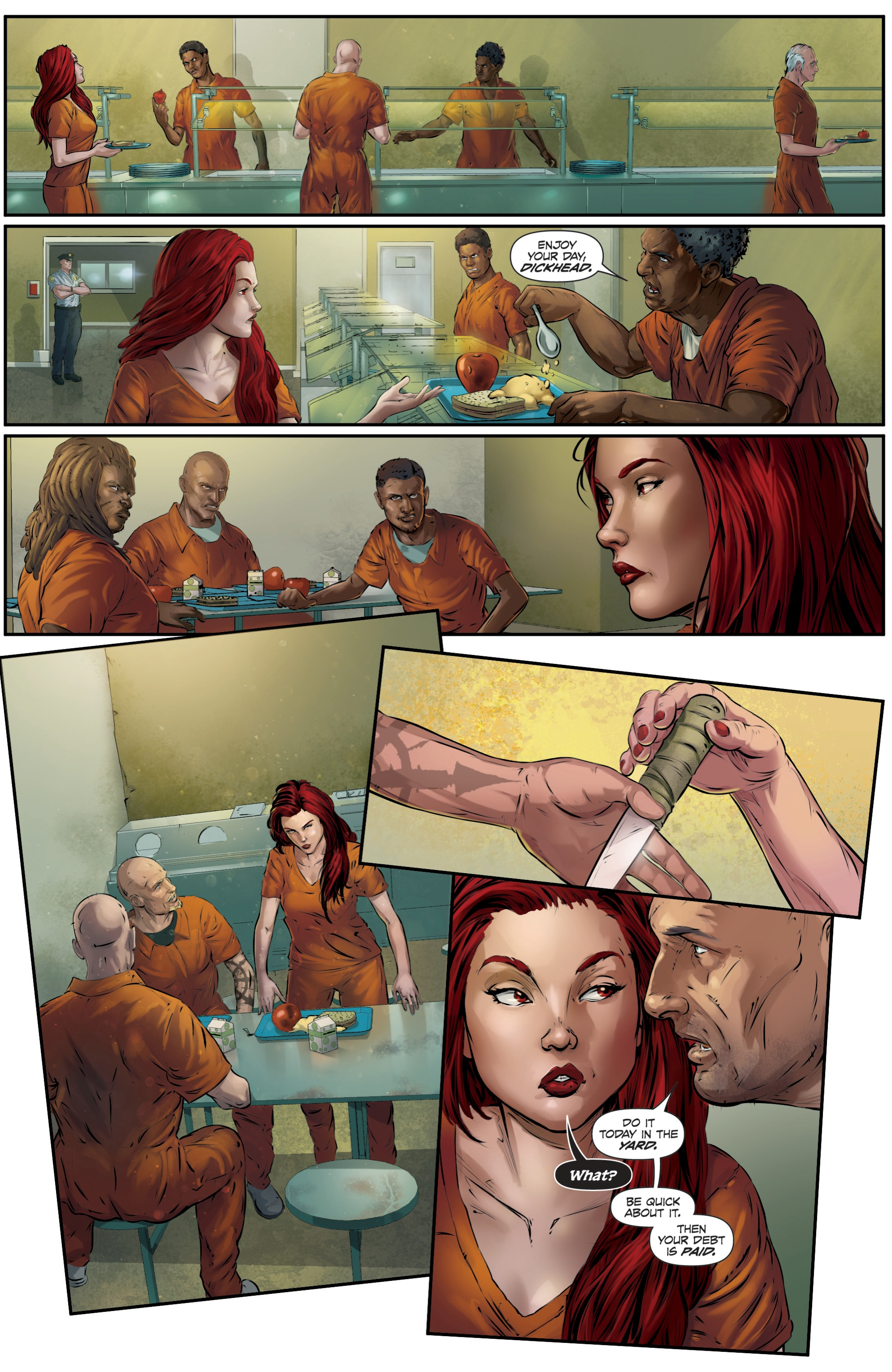 Read online Grimm Fairy Tales presents Death comic -  Issue # Full - 24