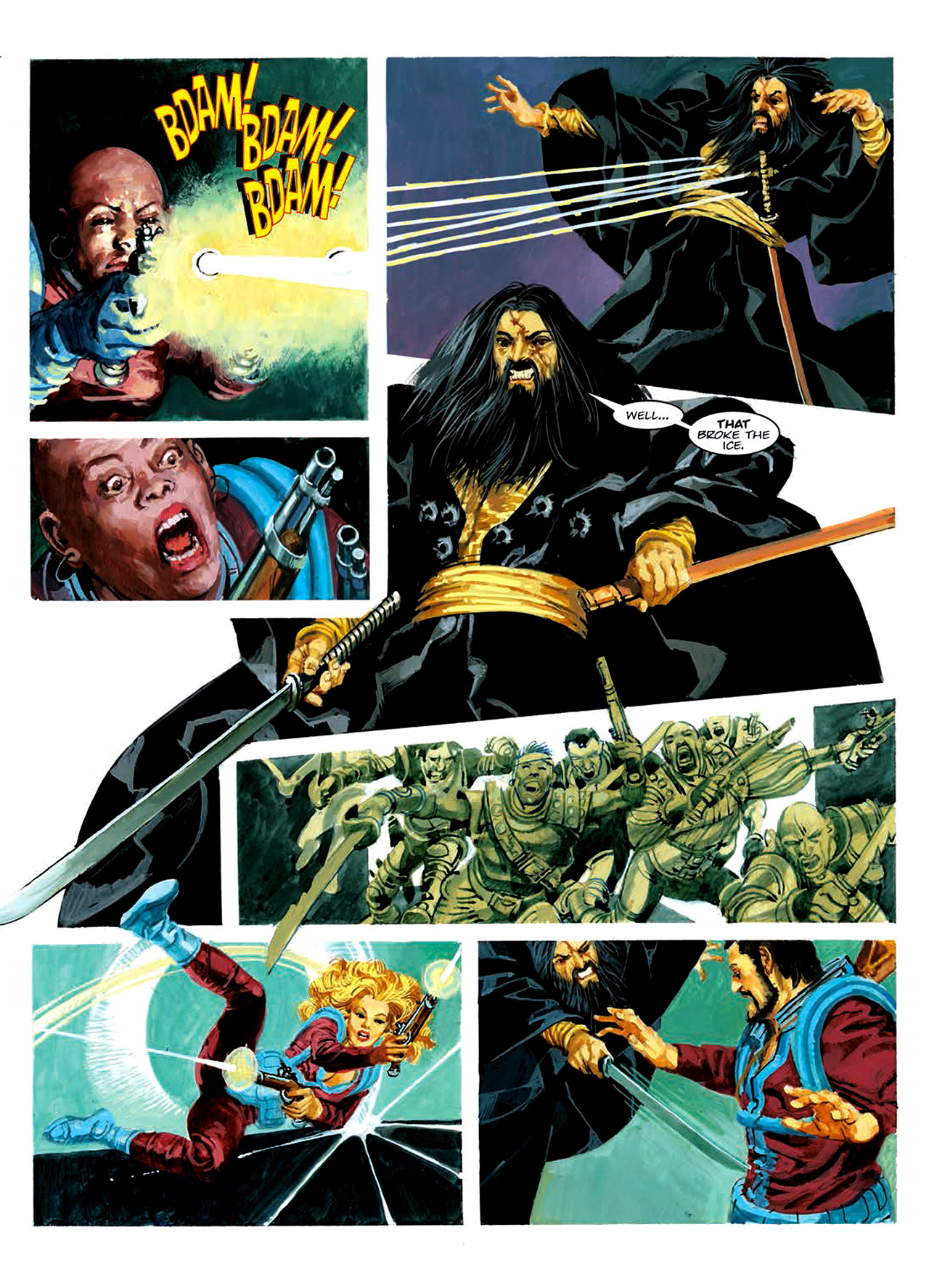 Read online Nikolai Dante comic -  Issue # TPB 6 - 178