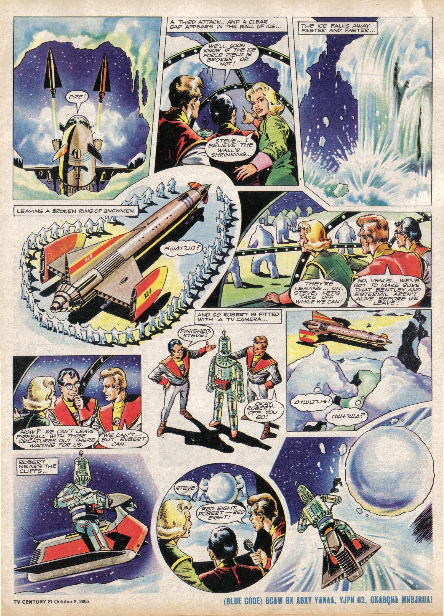 Read online TV Century 21 (TV 21) comic -  Issue #37 - 5