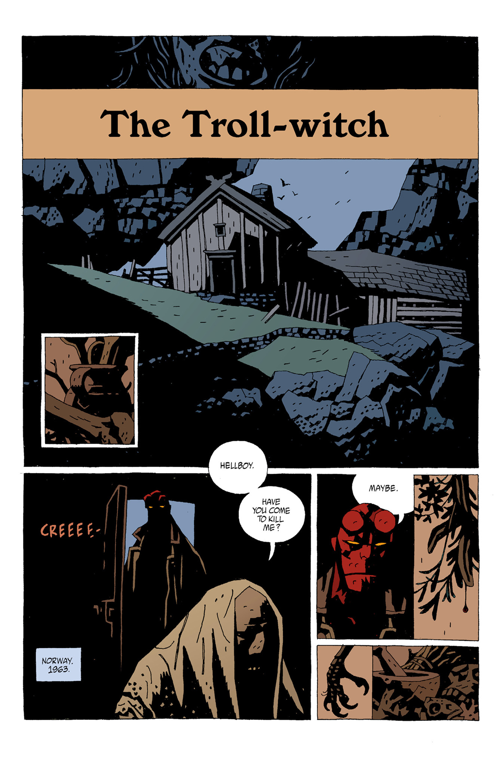 Read online Hellboy: The Troll Witch and Others comic -  Issue # TPB - 26