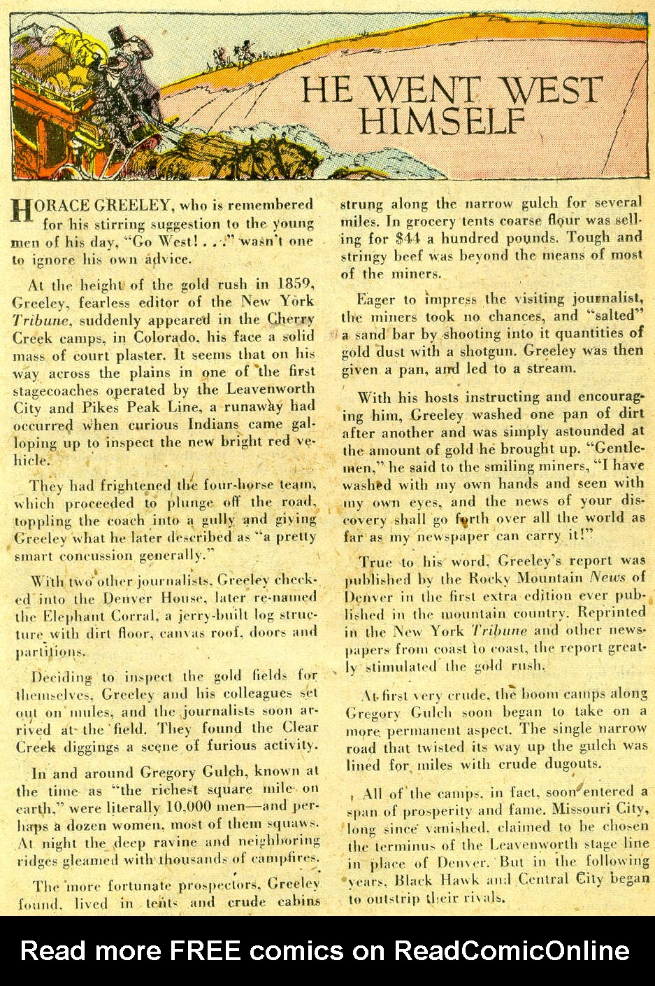 Read online All-Star Western (1951) comic -  Issue #68 - 25
