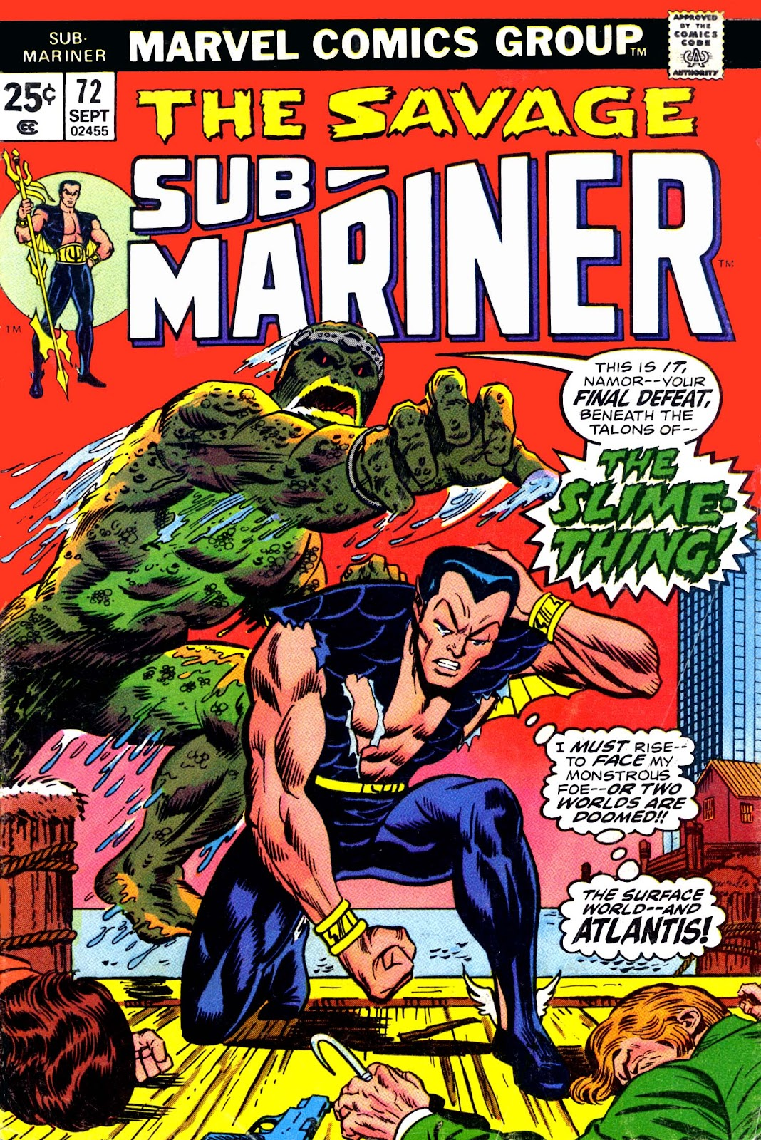 The Sub-Mariner 72 Page 1