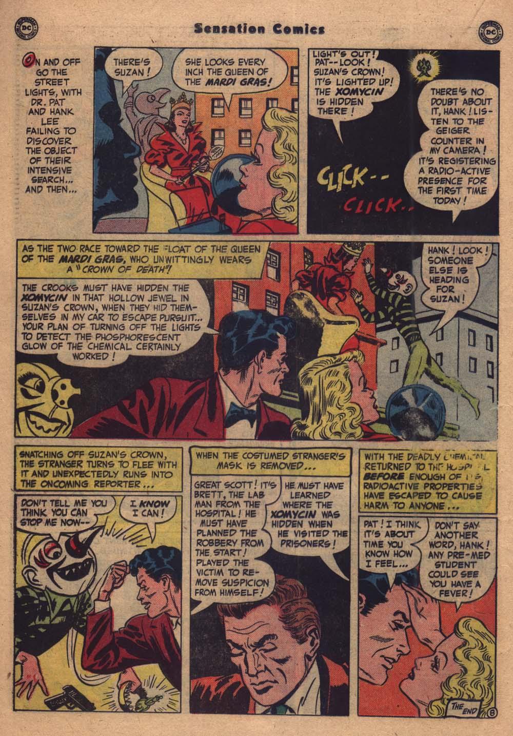 Read online Sensation (Mystery) Comics comic -  Issue #103 - 29