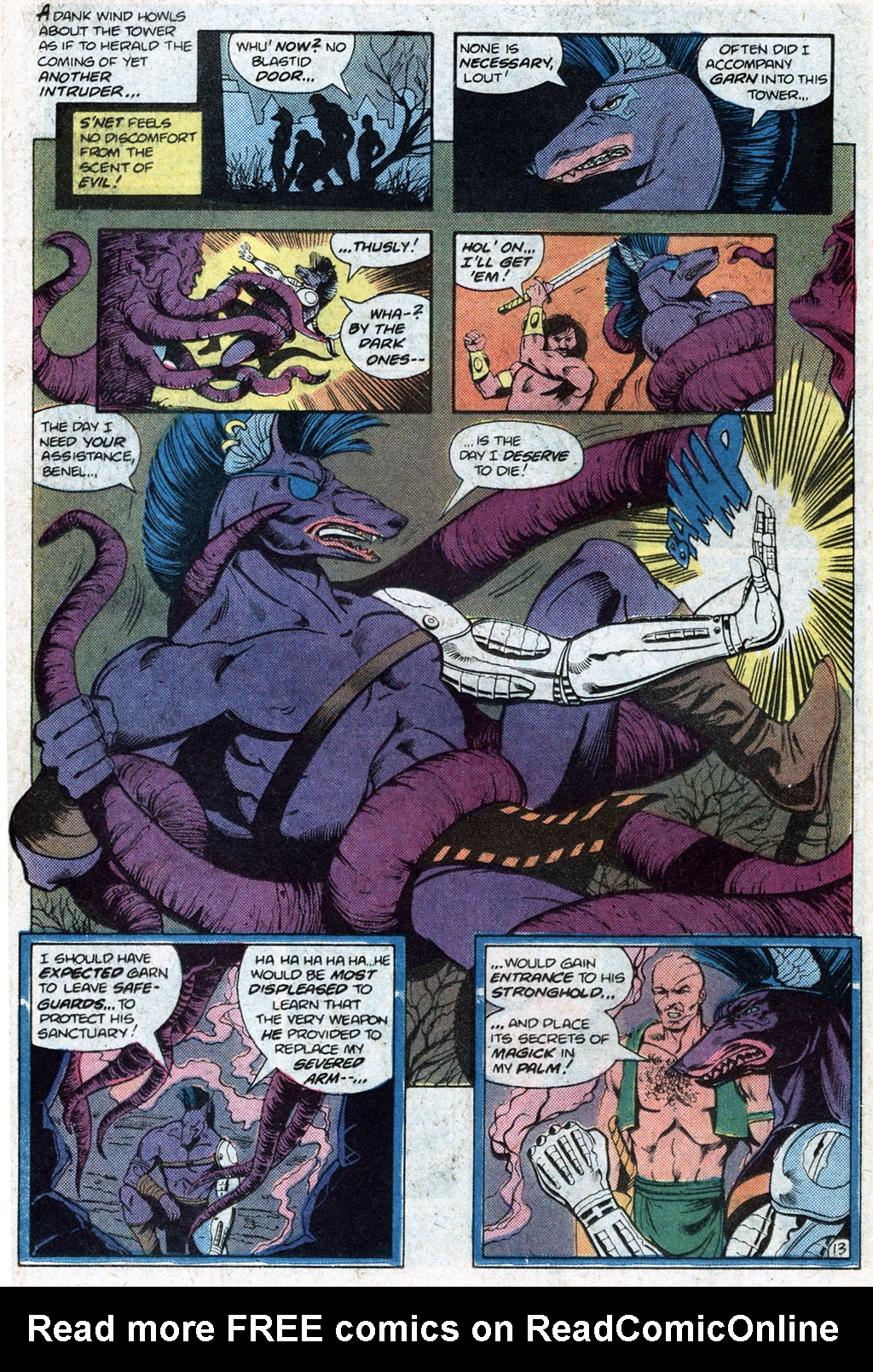 Read online Arion, Lord of Atlantis comic -  Issue #12 - 15