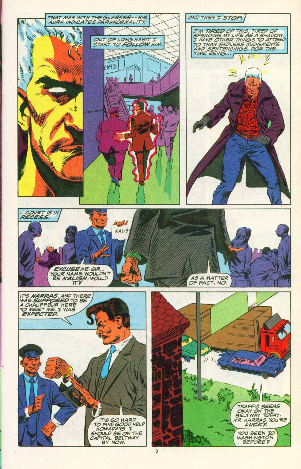 Read online Justice (1986) comic -  Issue #25 - 5