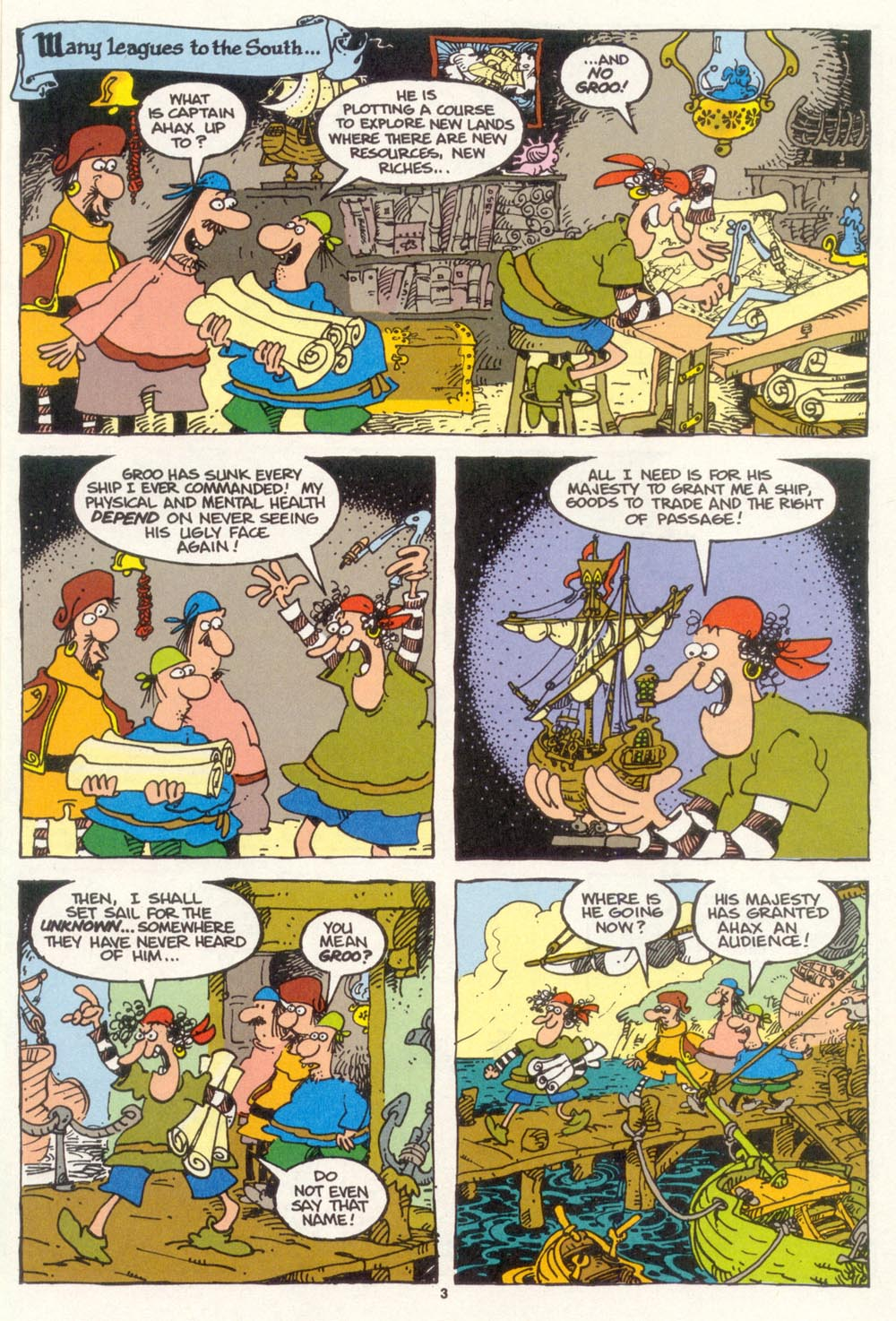 Read online Sergio Aragonés Groo the Wanderer comic -  Issue #101 - 5