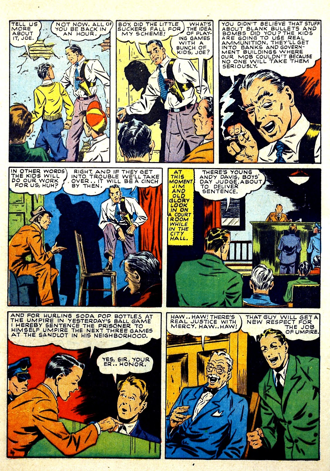 Our Flag Comics issue 4 - Page 6