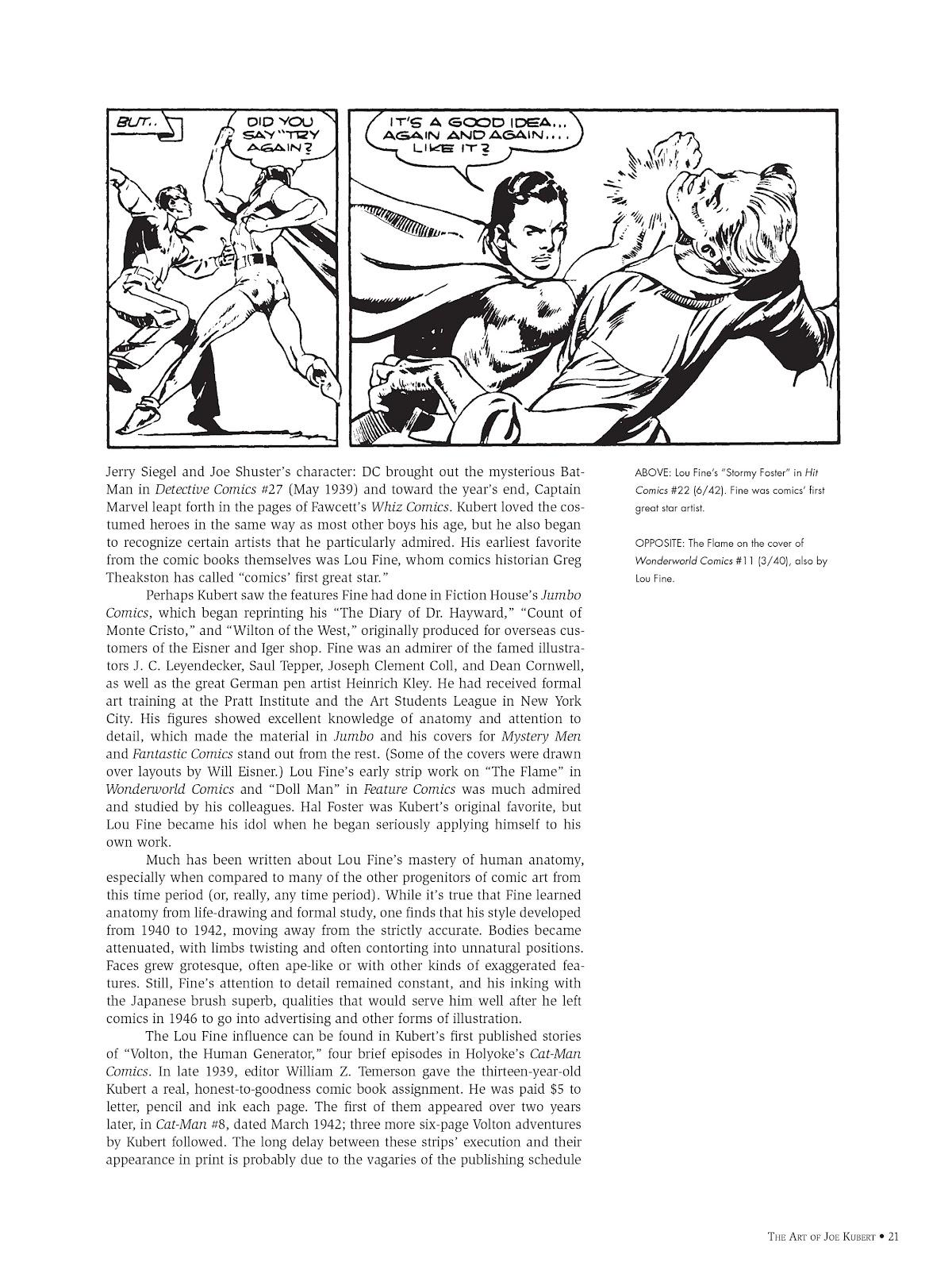 Read online The Art of Joe Kubert comic -  Issue # TPB (Part 1) - 20