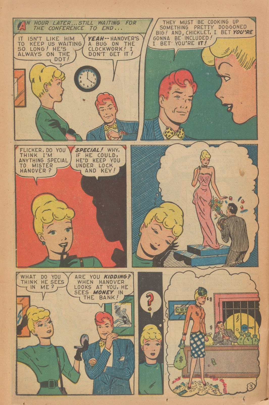 Read online Nellie The Nurse (1945) comic -  Issue #9 - 36