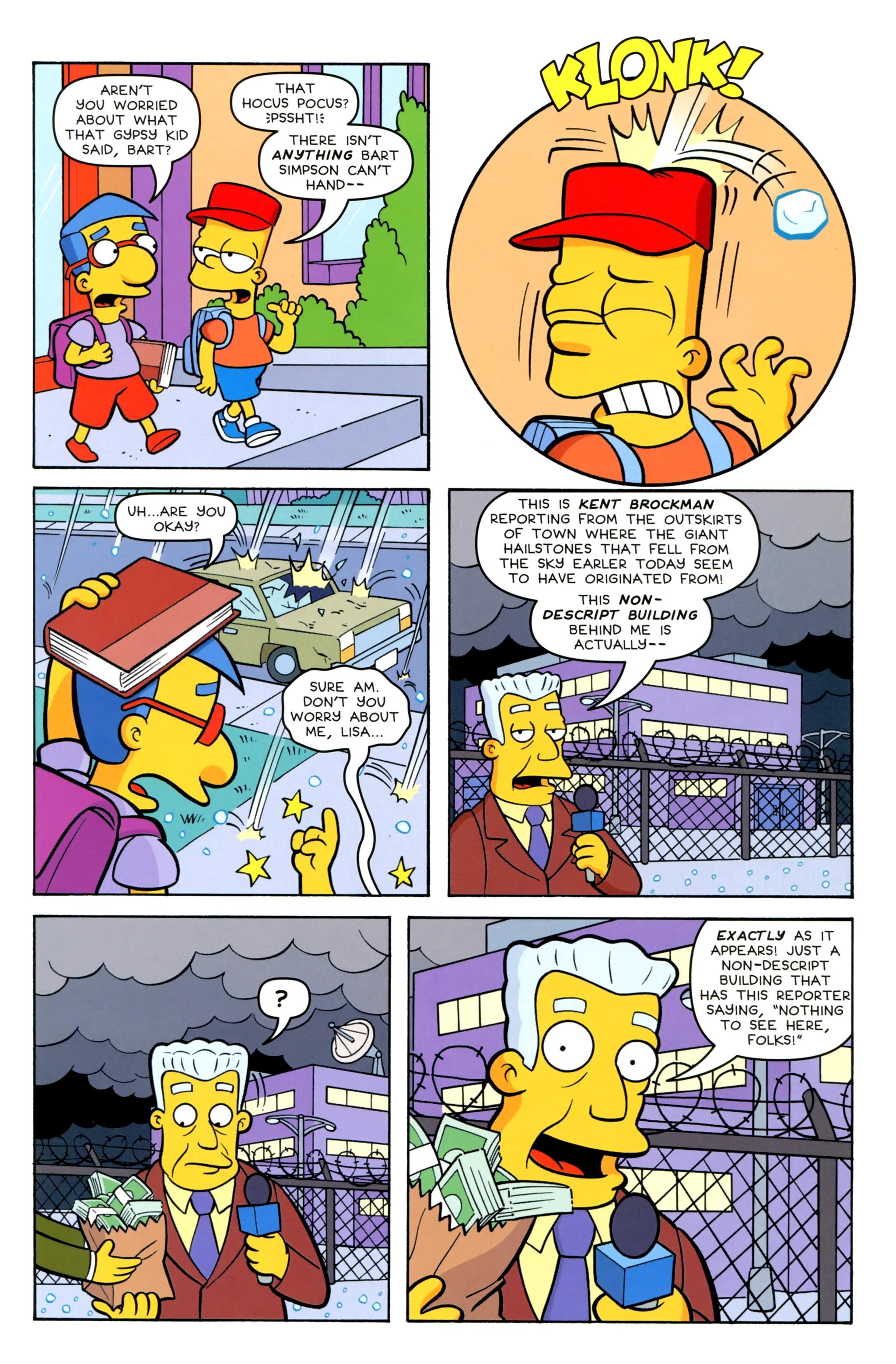 Read online Simpsons Comics Presents Bart Simpson comic -  Issue #100 - 5