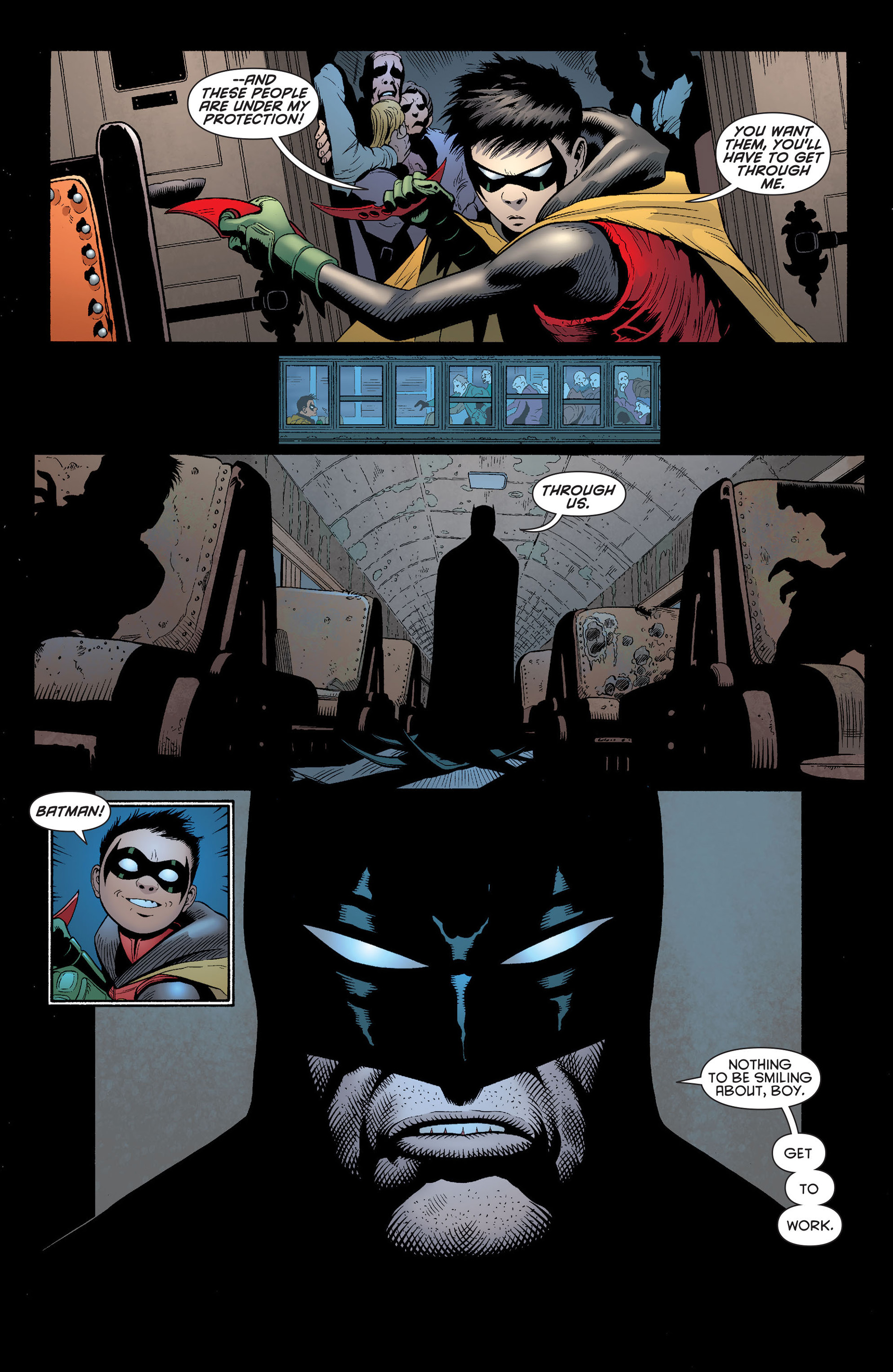 Read online Batman and Robin (2011) comic -  Issue #14 - 14