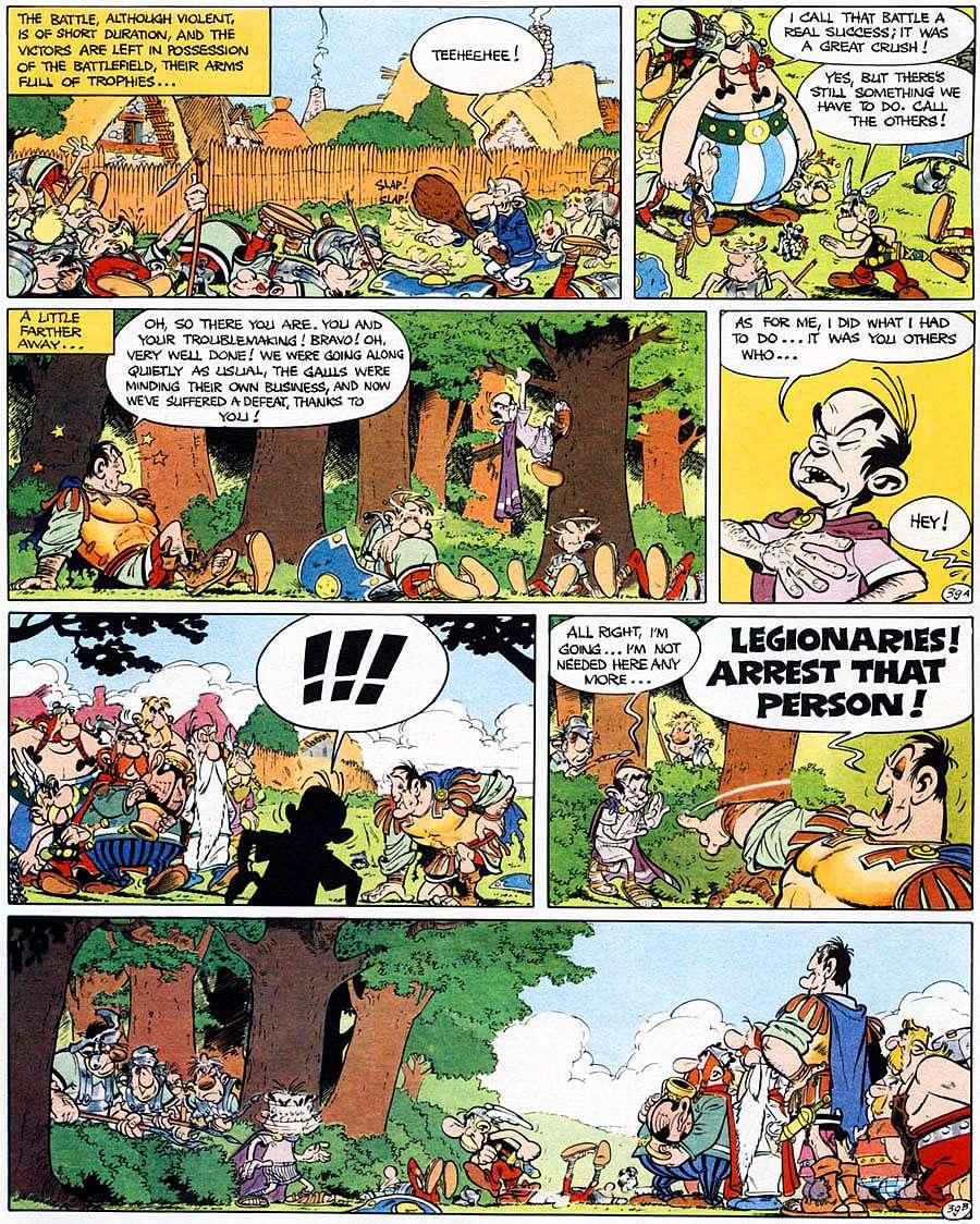 Read online Asterix comic -  Issue #15 - 44