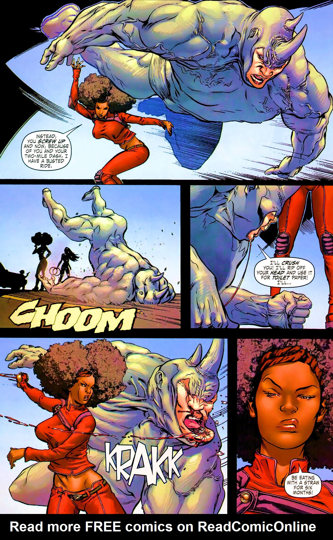Read online Daughters of the Dragon comic -  Issue #1 - 9
