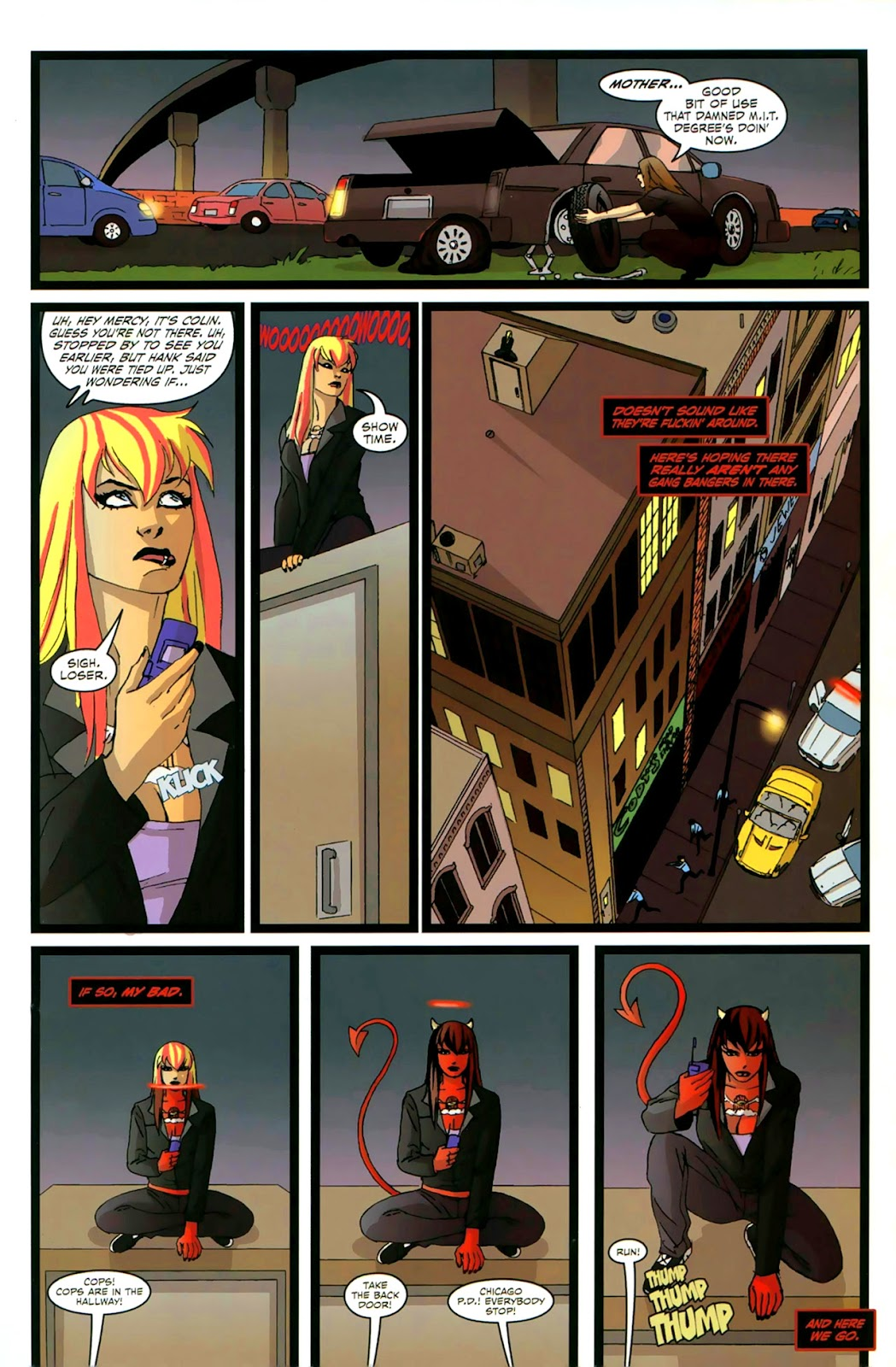 Read online Mercy Sparx (2008) comic -  Issue #2 - 14