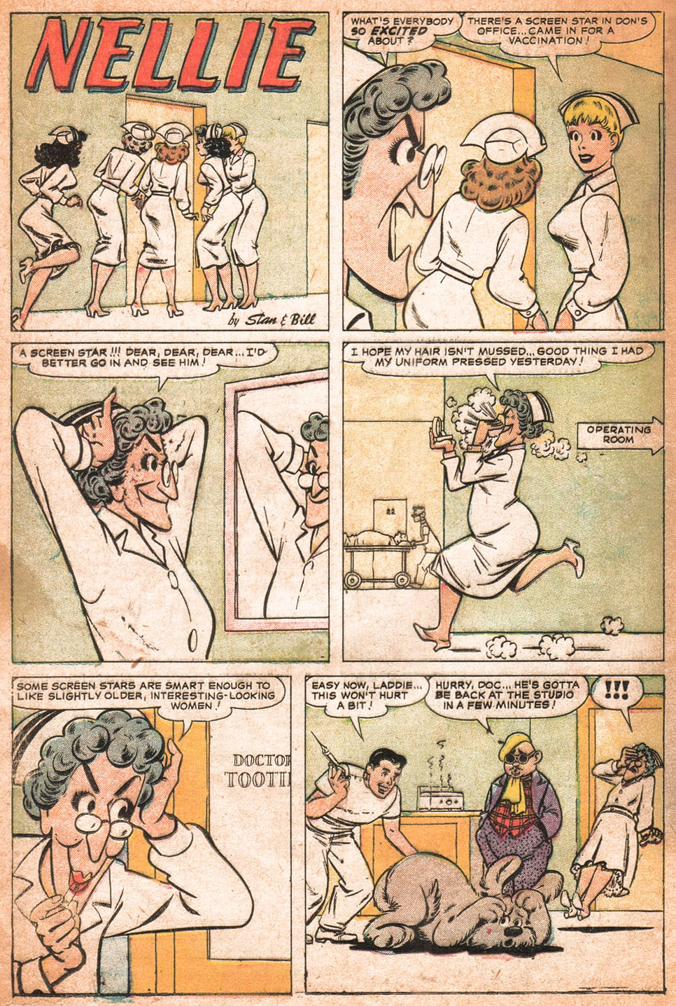 Read online Nellie The Nurse (1957) comic -  Issue # Full - 17