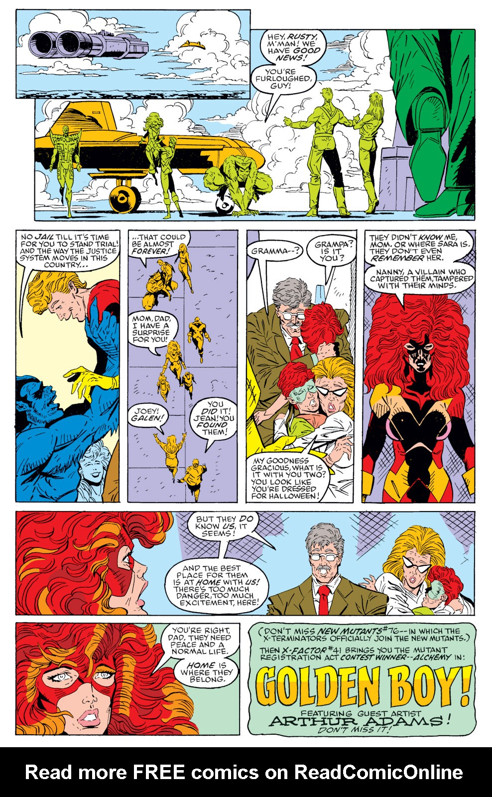 Read online X-Factor (1986) comic -  Issue #40 - 22